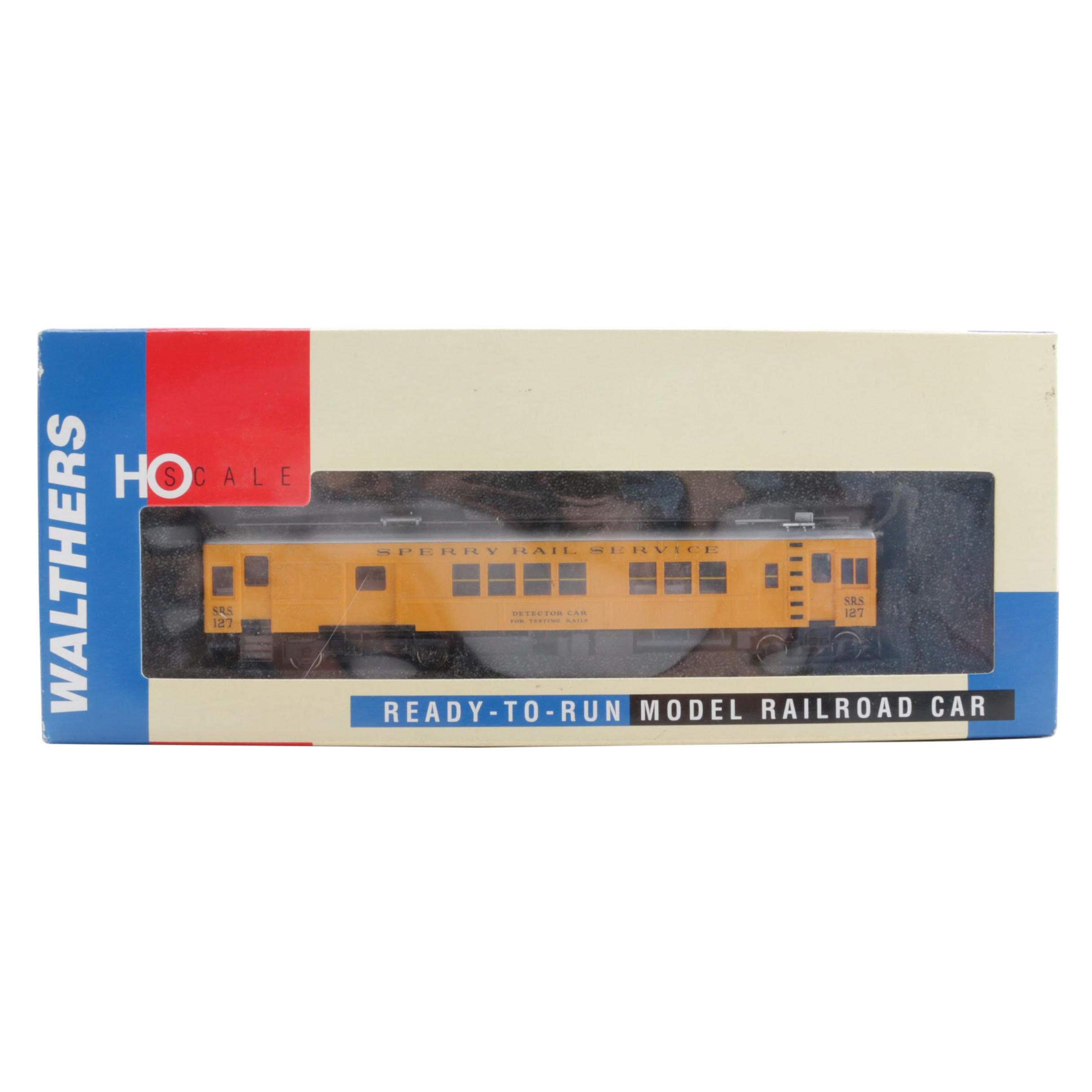 """Walthers """"Sperry Rail Service"""" Detector Car"""