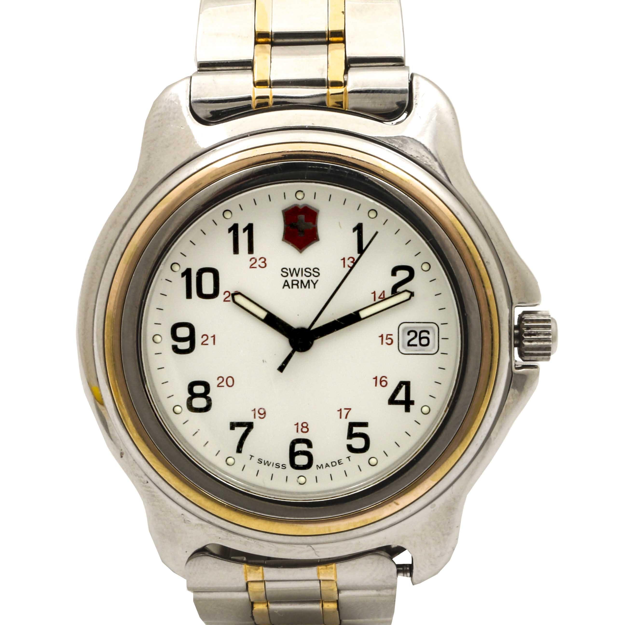 Swiss Army Swiss Made Wristwatch