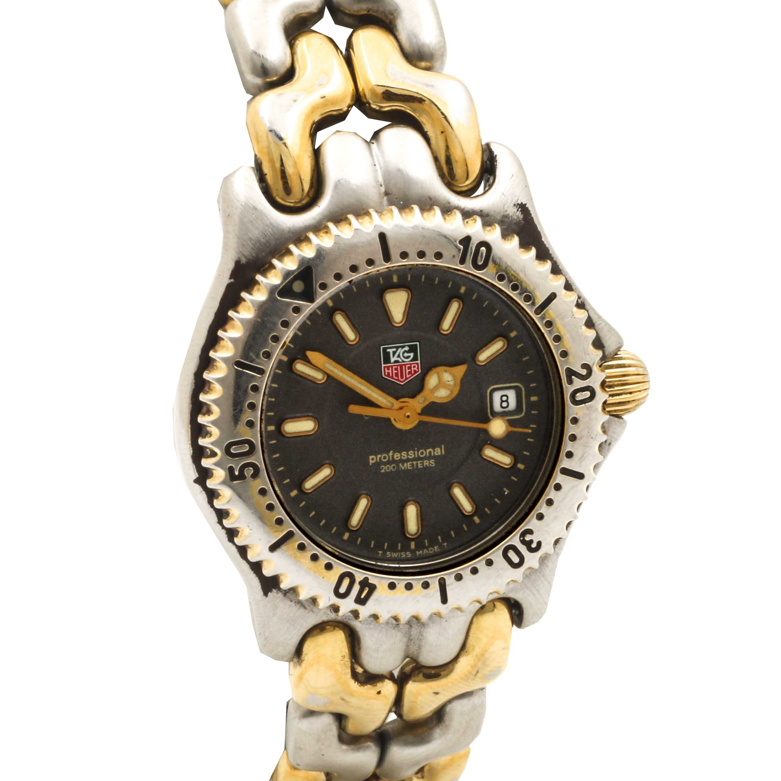 TAG Heuer Two Tone Analog Wristwatch