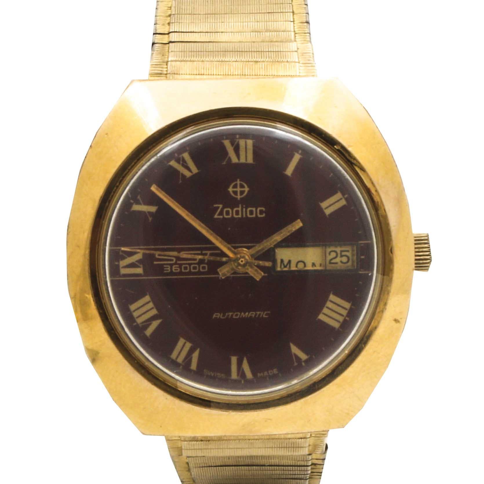 Zodiac SST 36000 Automatic Wristwatch
