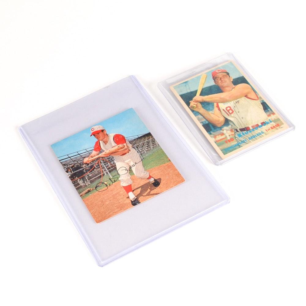 Rose and Kluszewski Vintage Cards