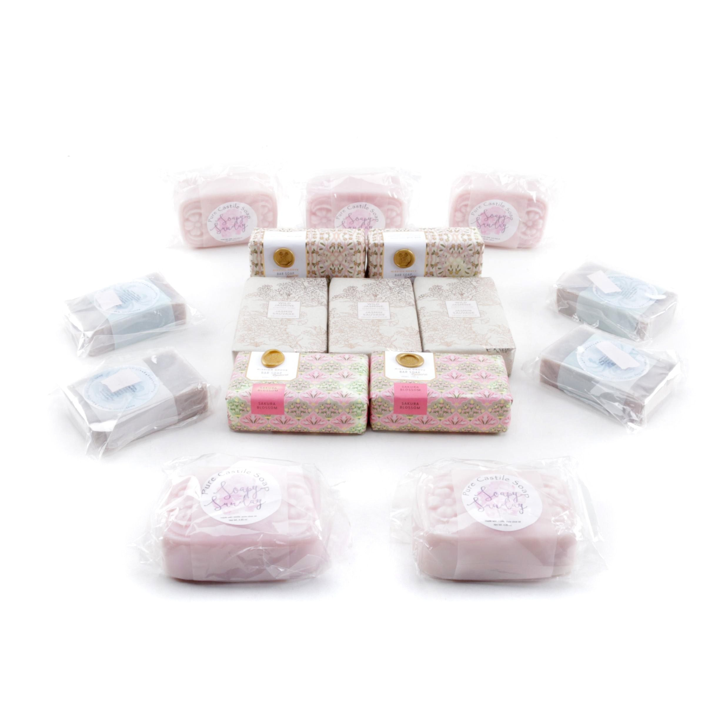 Bar Soap Including Mission Grove