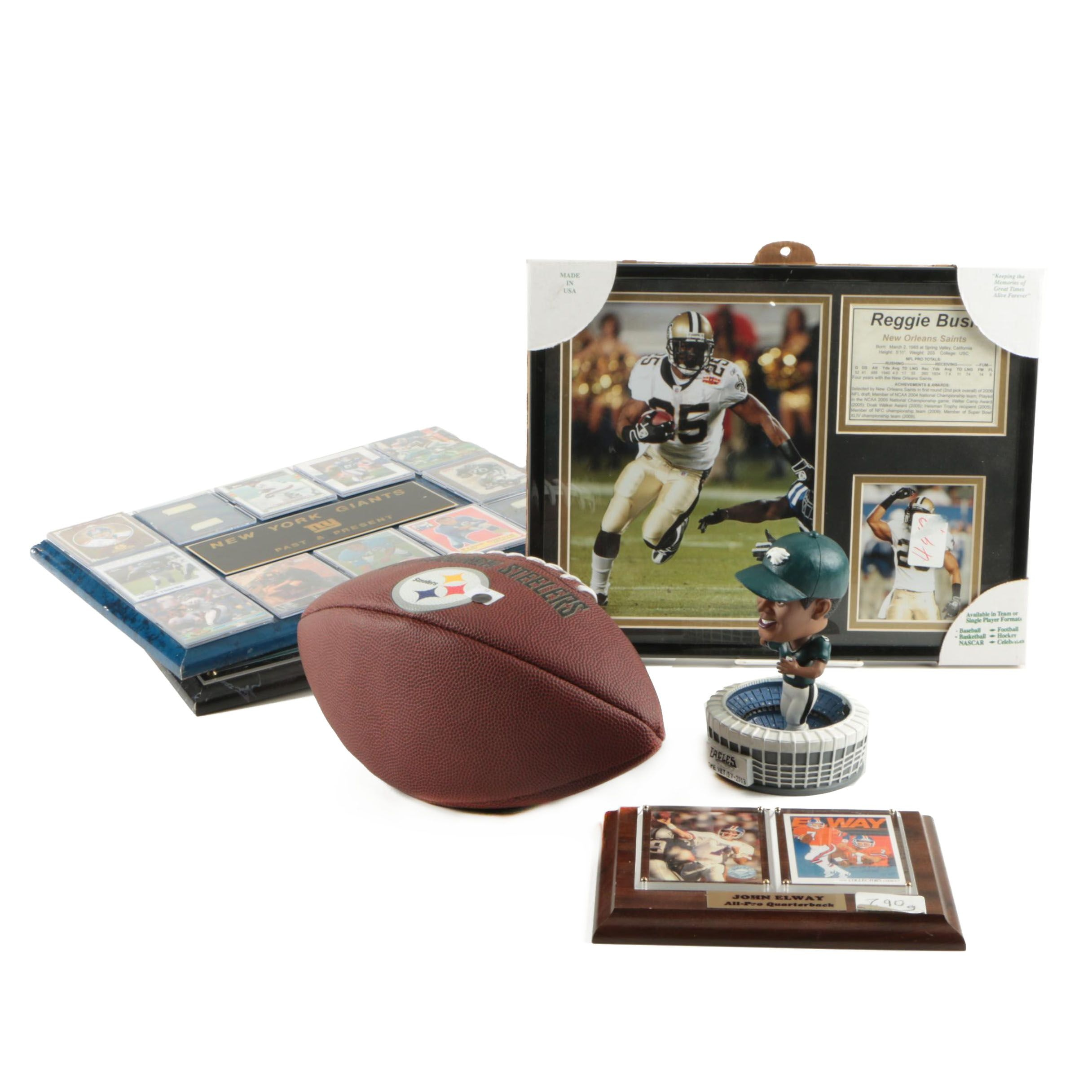 Assorted Football Memorabilia