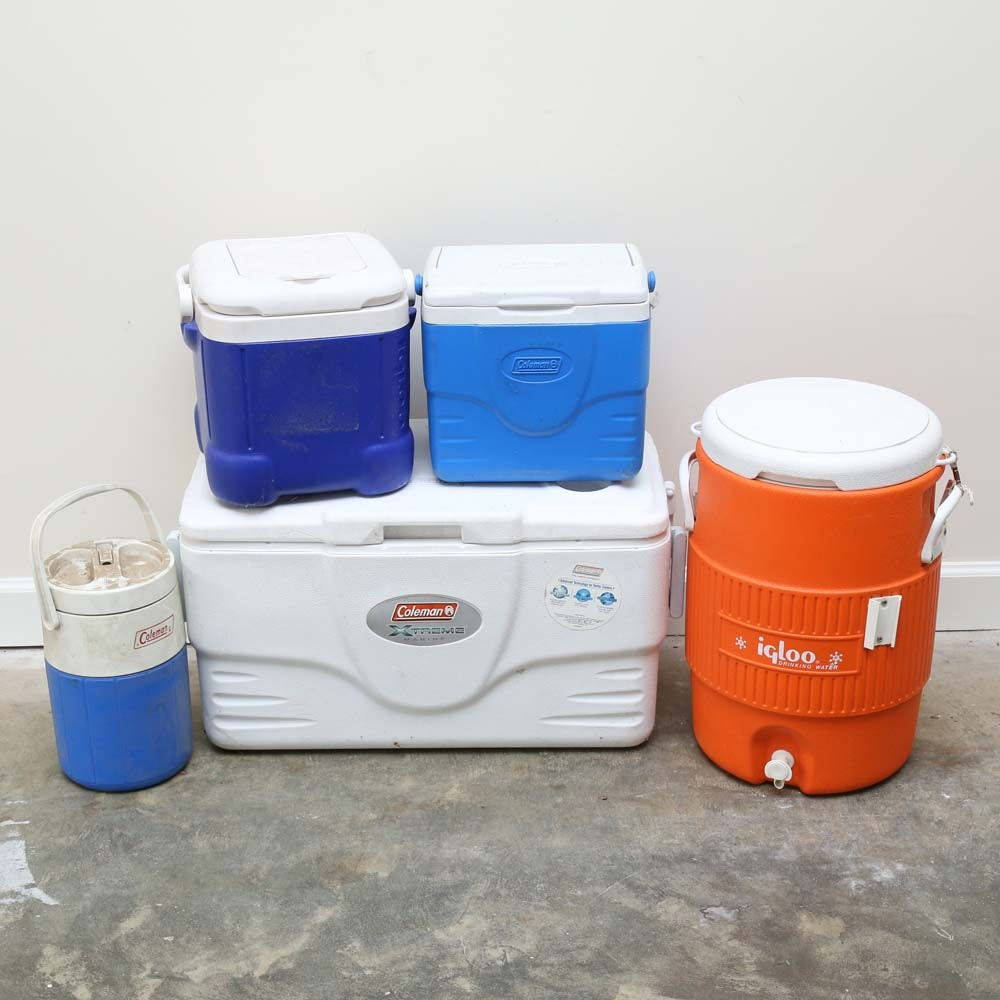 Collection of Coolers