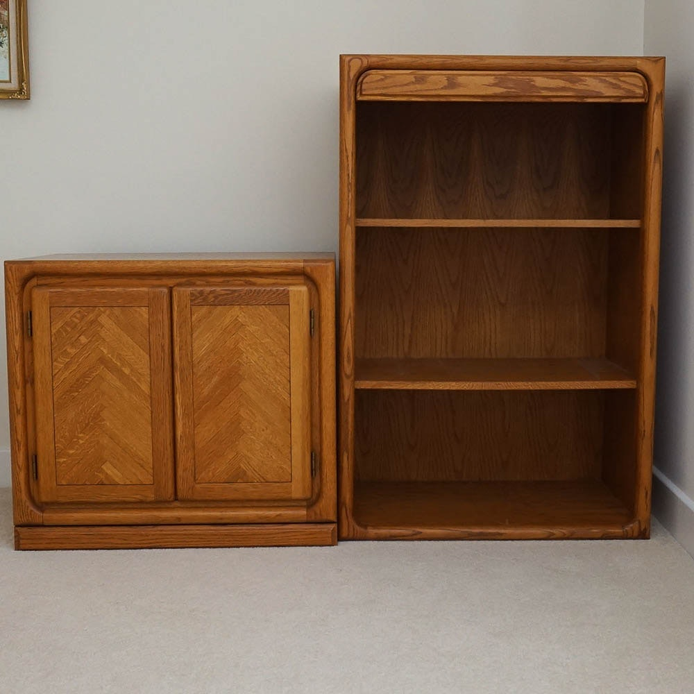 Vintage Chest and Bookcase by Village Furniture Inc.