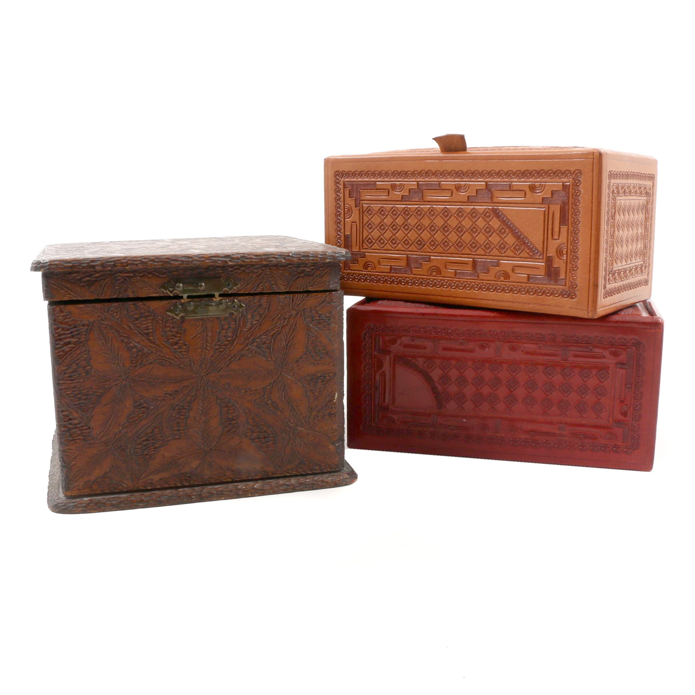 Assortment of Decorative Boxes