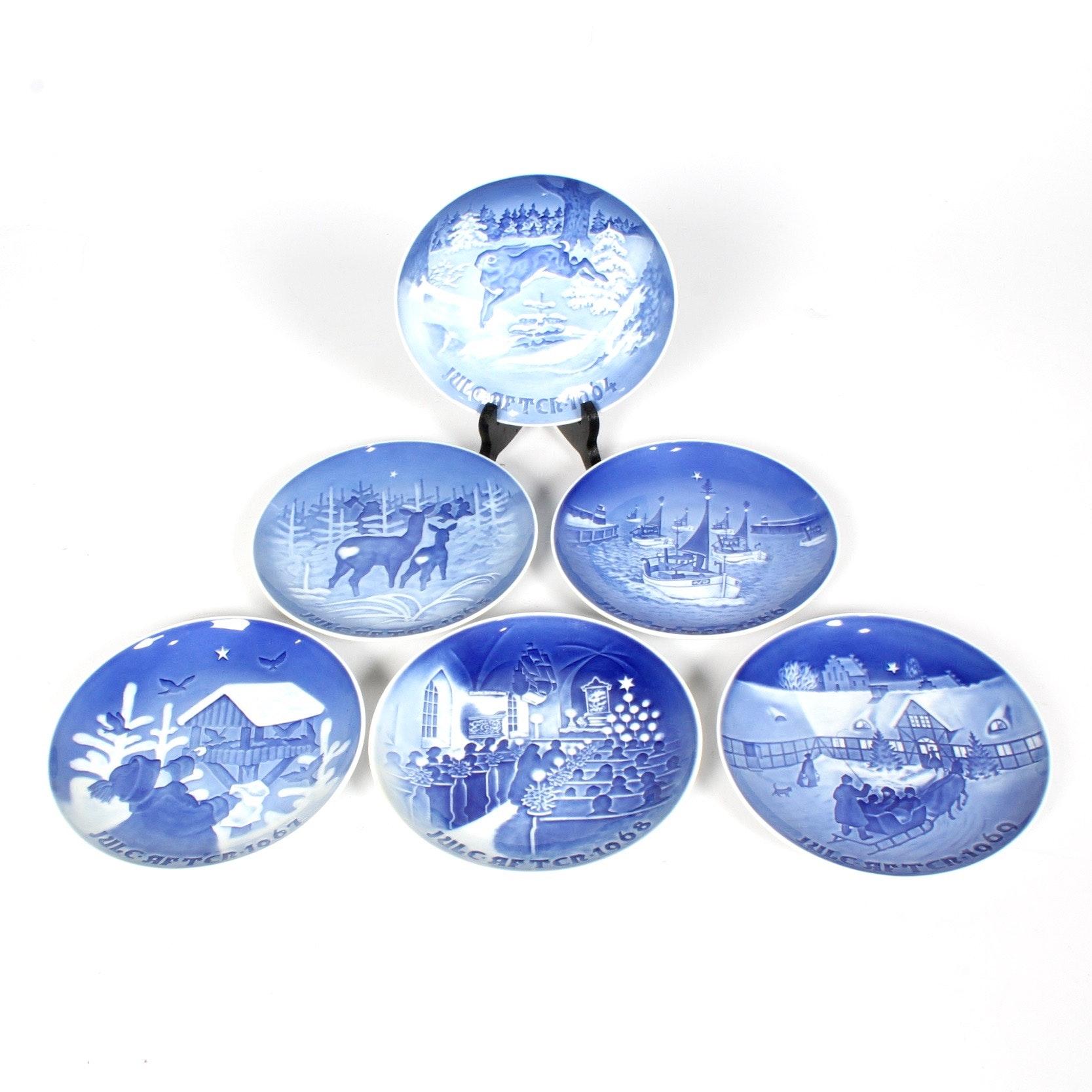 Bing & Grondahl 1960s Christmas Plates