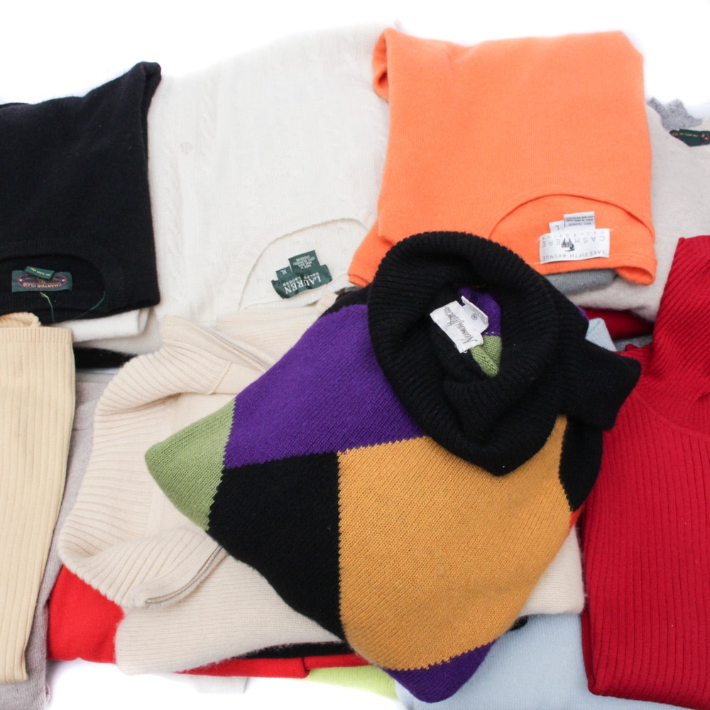 Women's Cashmere Sweaters and More
