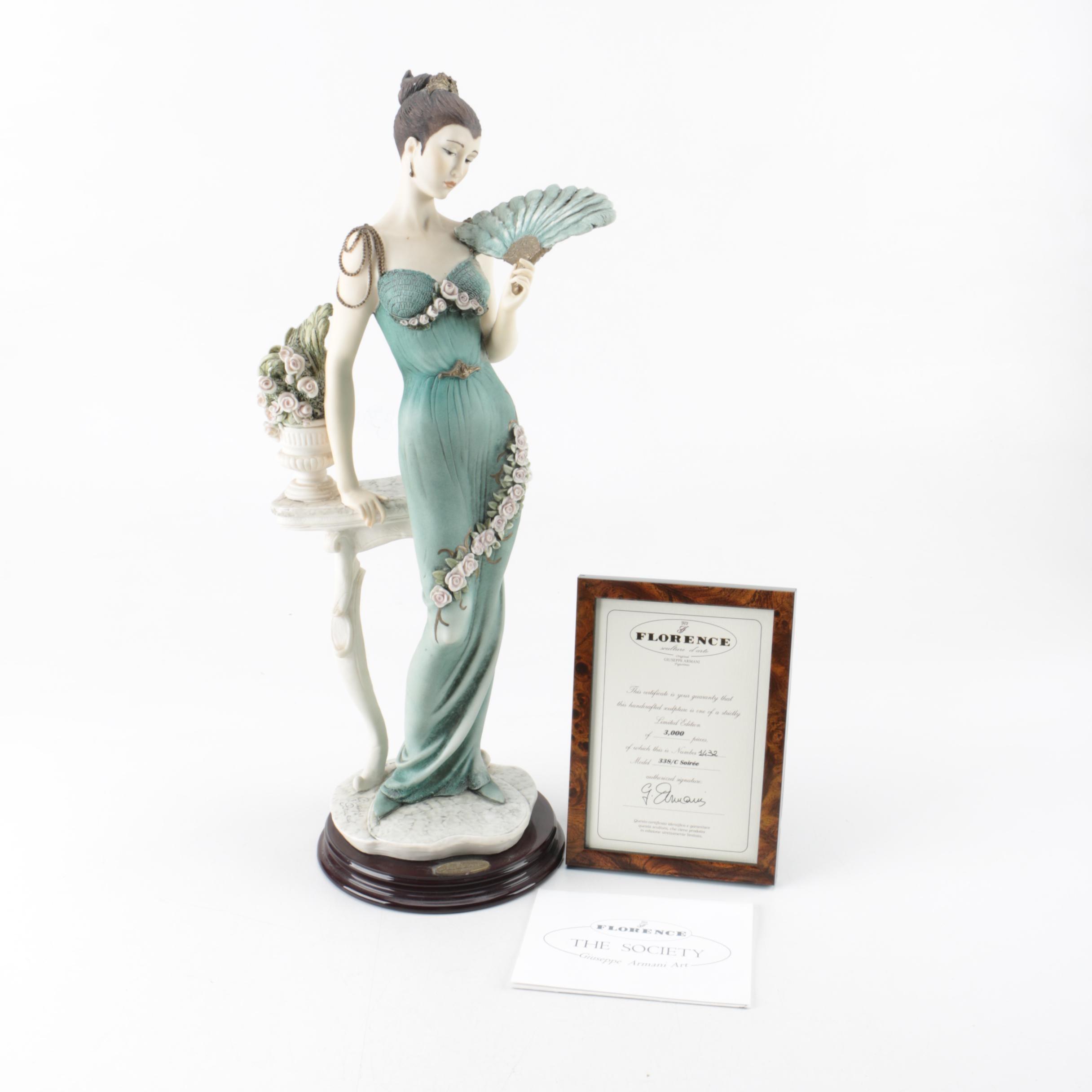 "Giuseppe Armani ""Florence"" Porcelain Figurine"