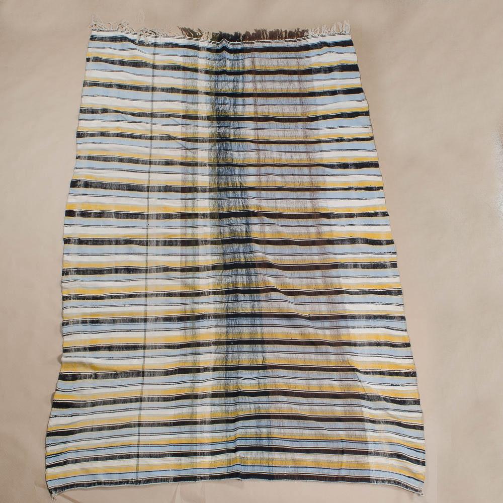 Handwoven Vintage Tribal Area Rug/Blanket