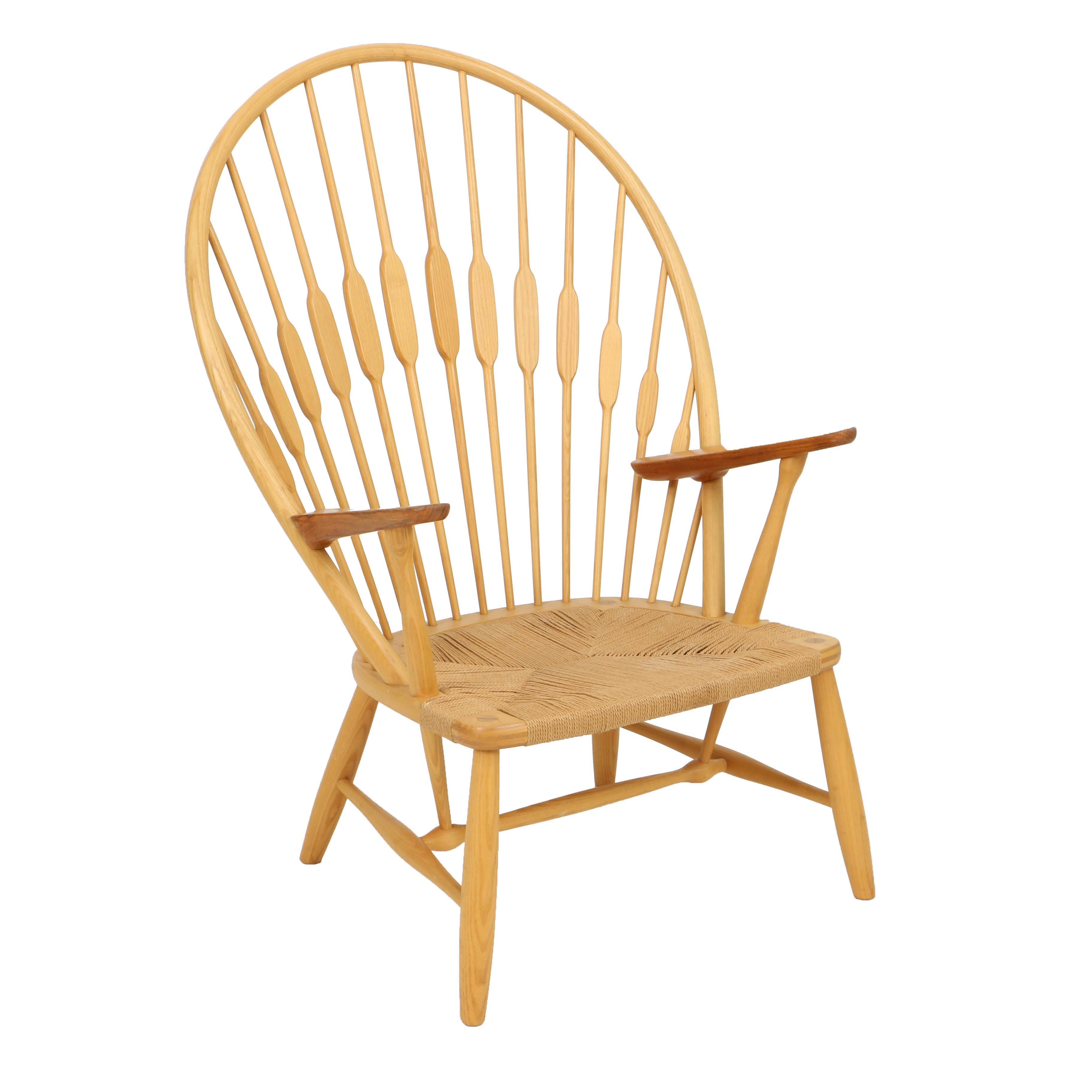 Mid Century Modern Peacock Chair by Hans Wegner for Johannes Hansen