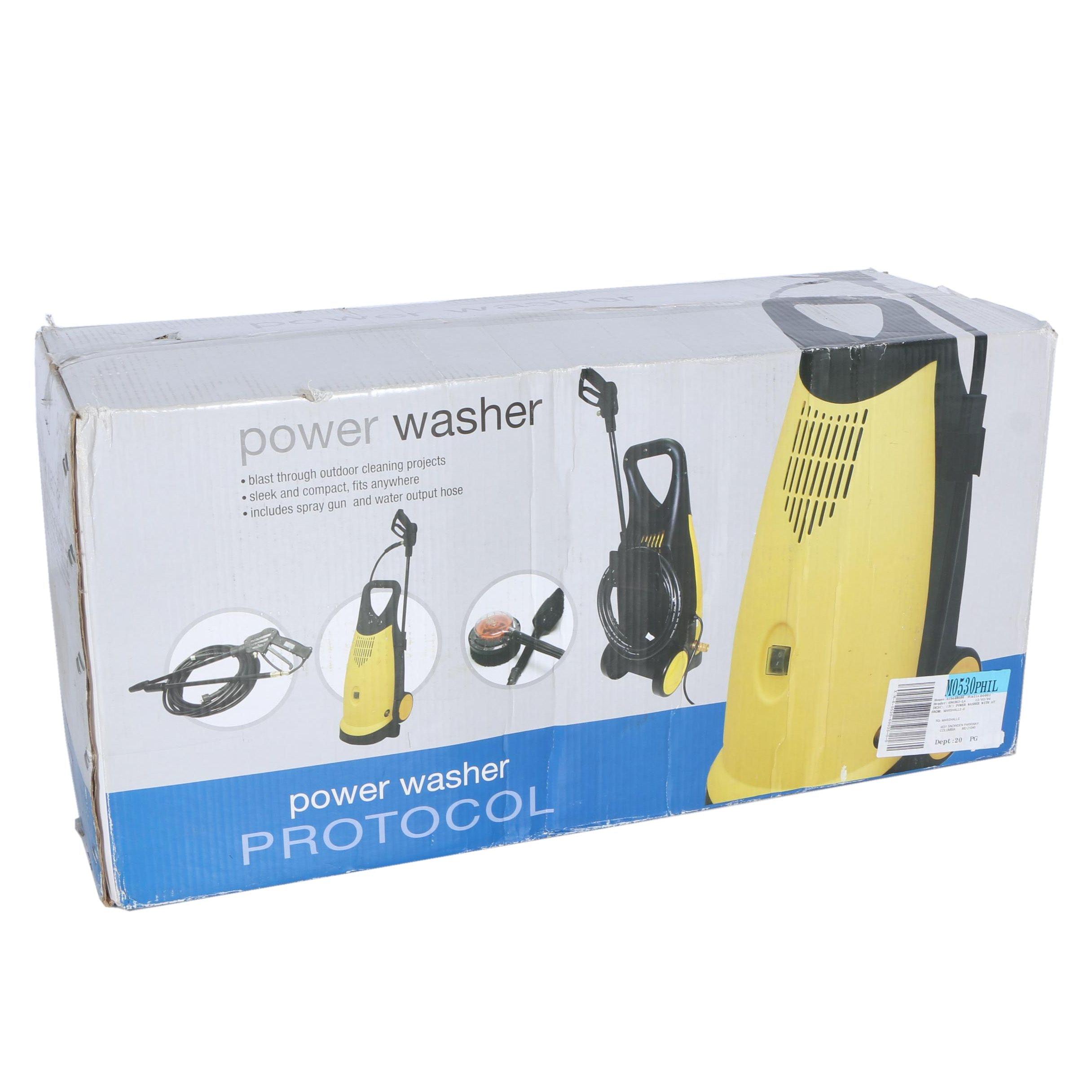 Protocol Power Washer