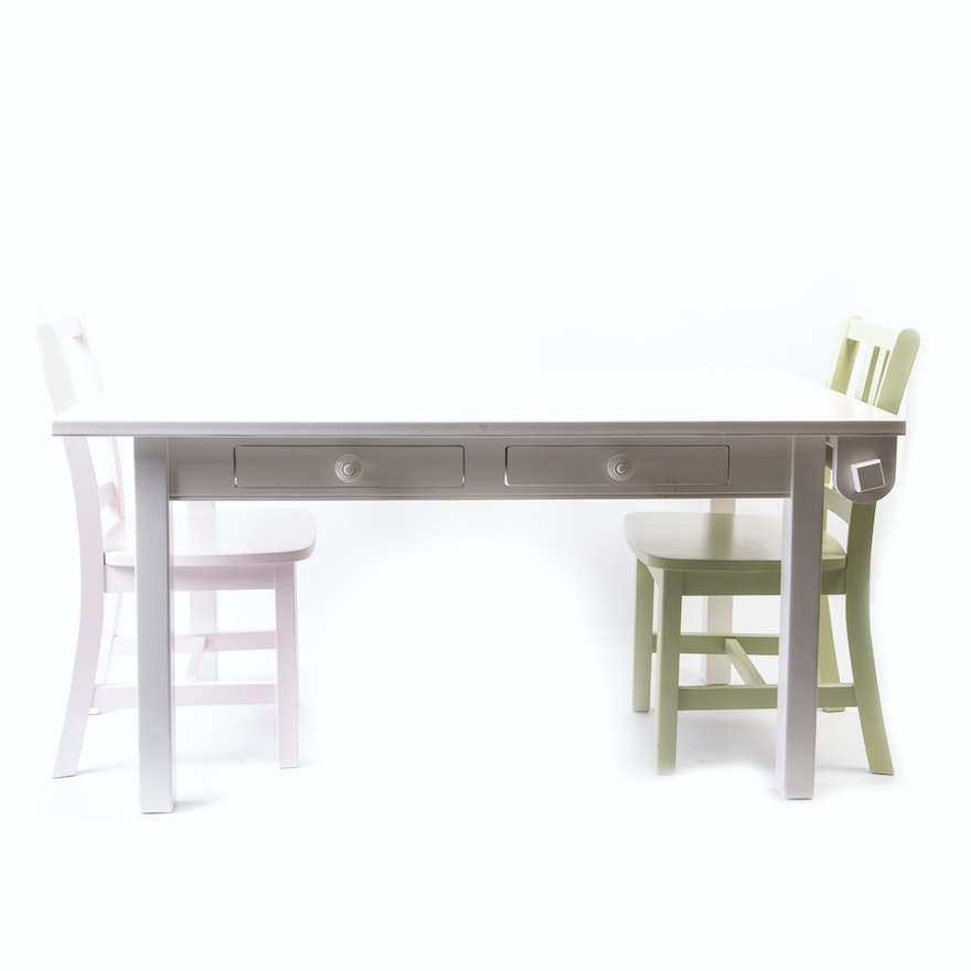 Children S Craft Table With Chairs By The Land Of Nod