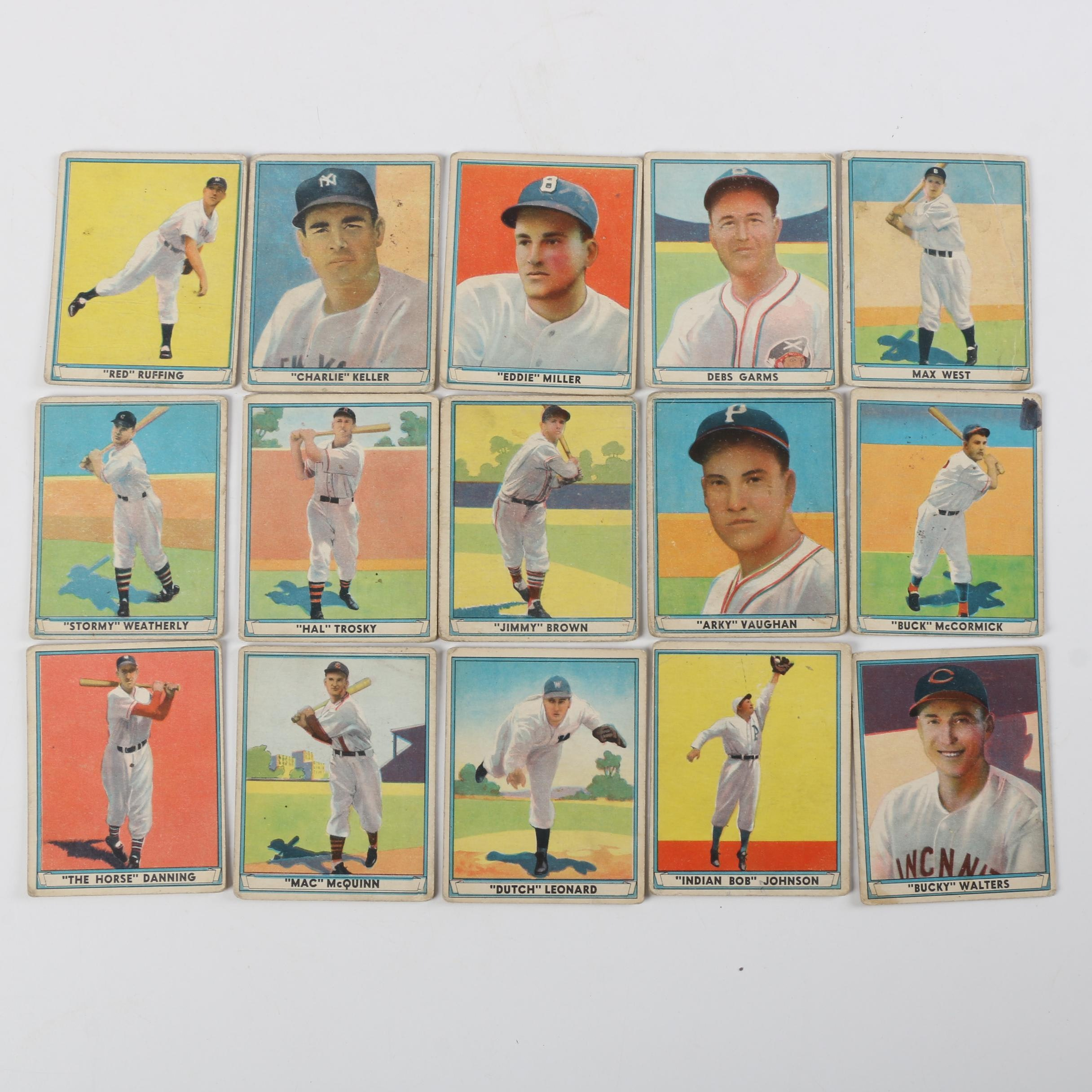 "1941 ""Play Ball"" Baseball Cards"