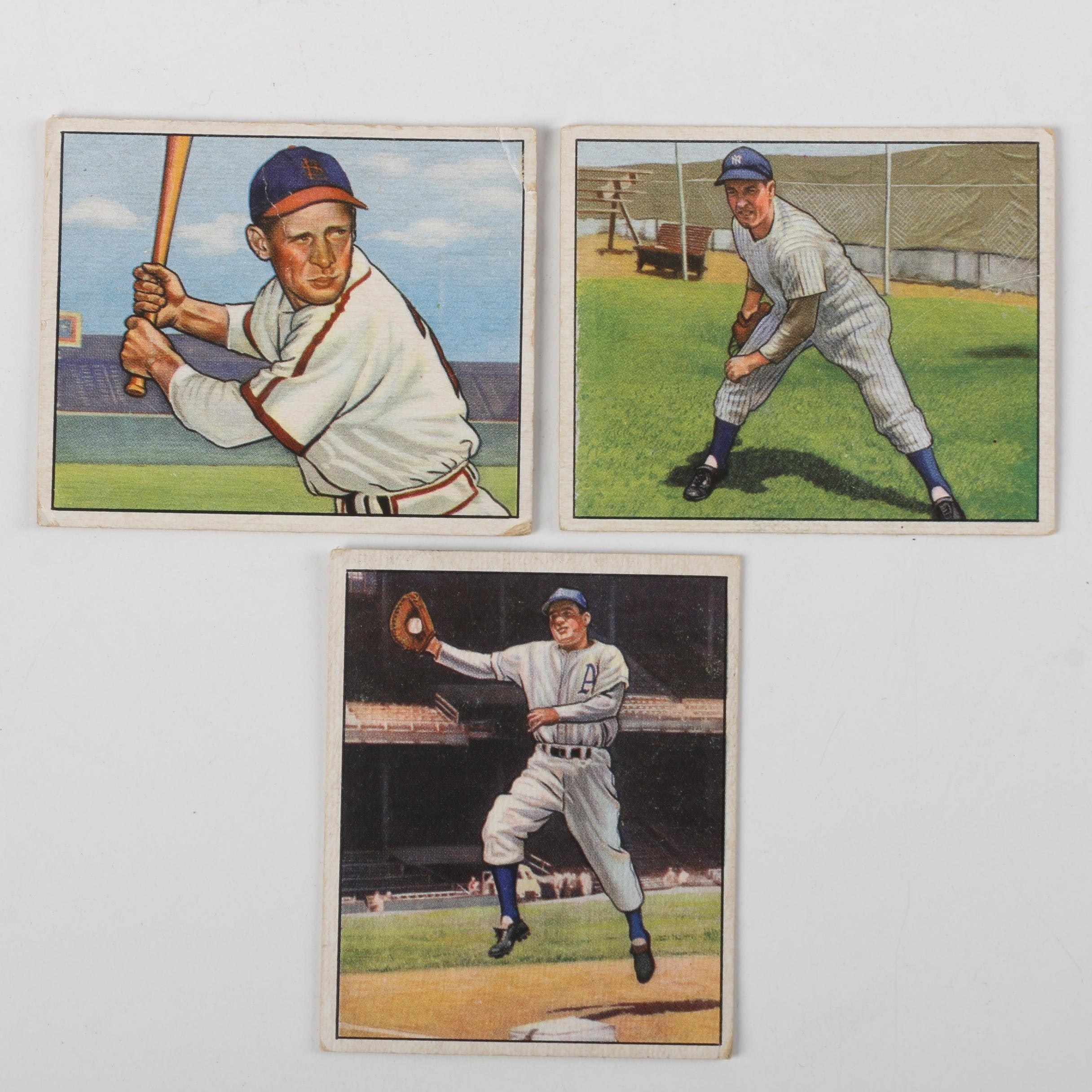 1950 Bowman Baseball Cards