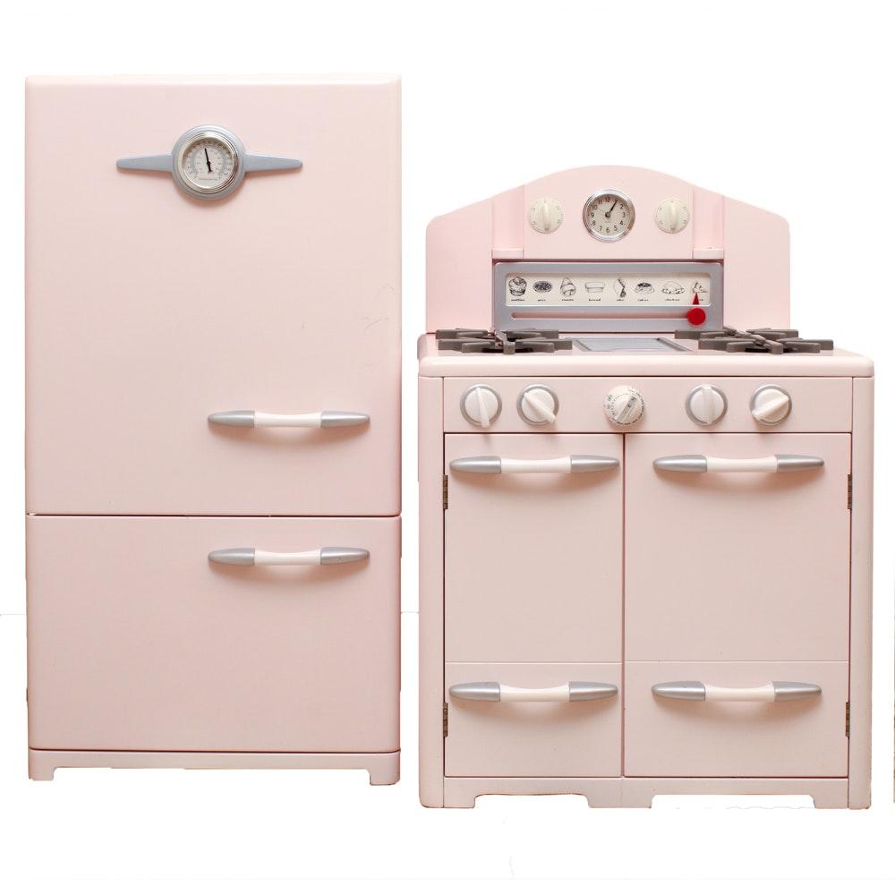Playhouse Refrigerator and Stove