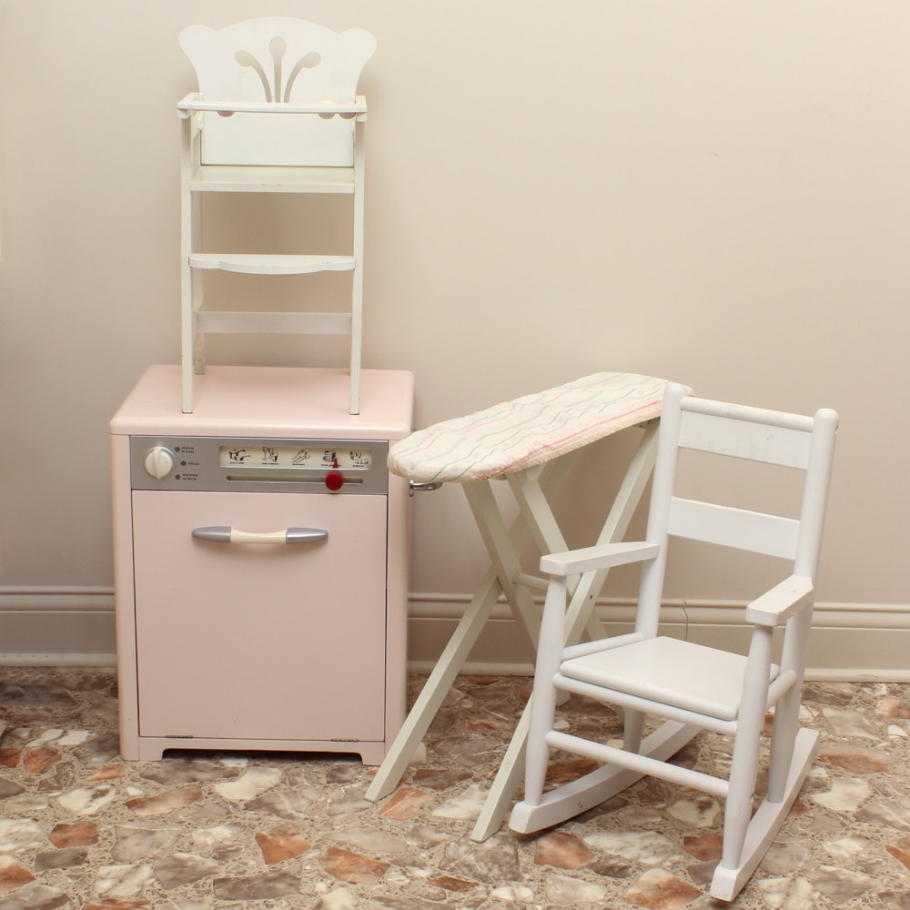 Playhouse Dishwasher, Chairs and Ironing Board