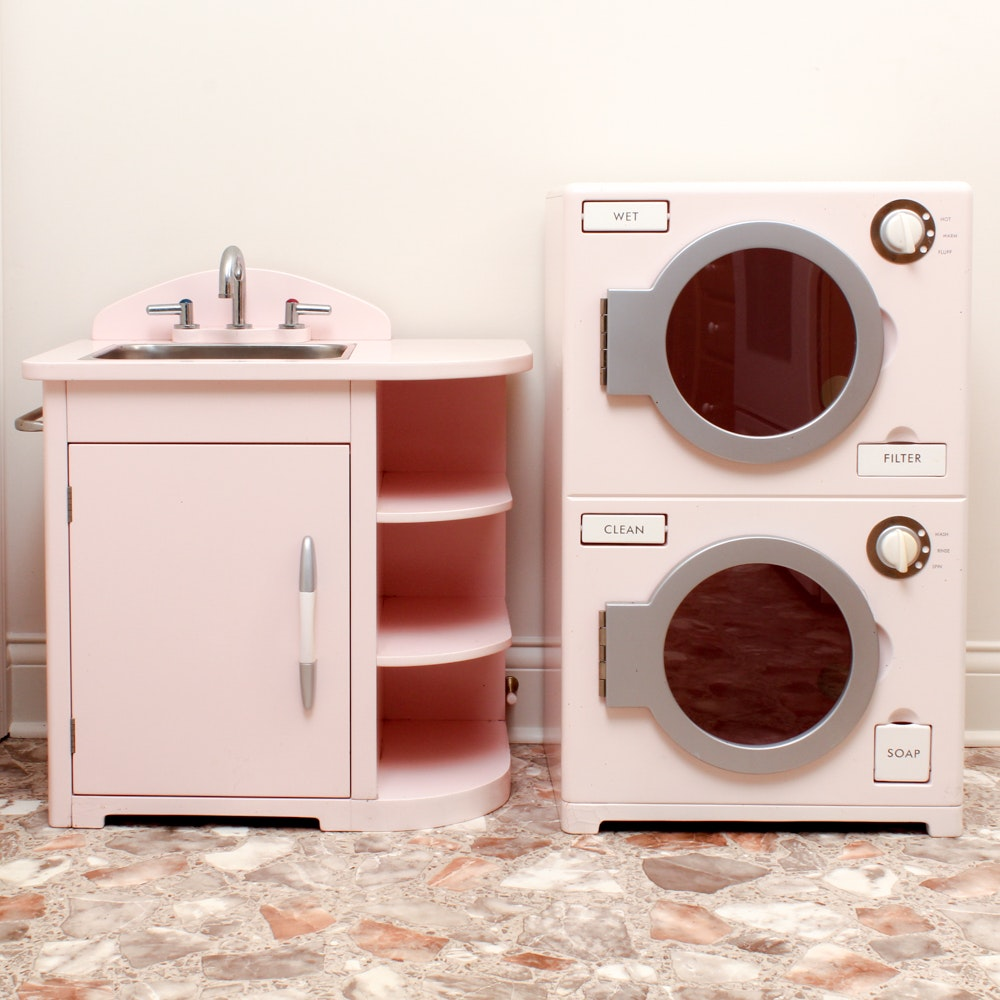 Playhouse Sink and Washer/Dryer Combo