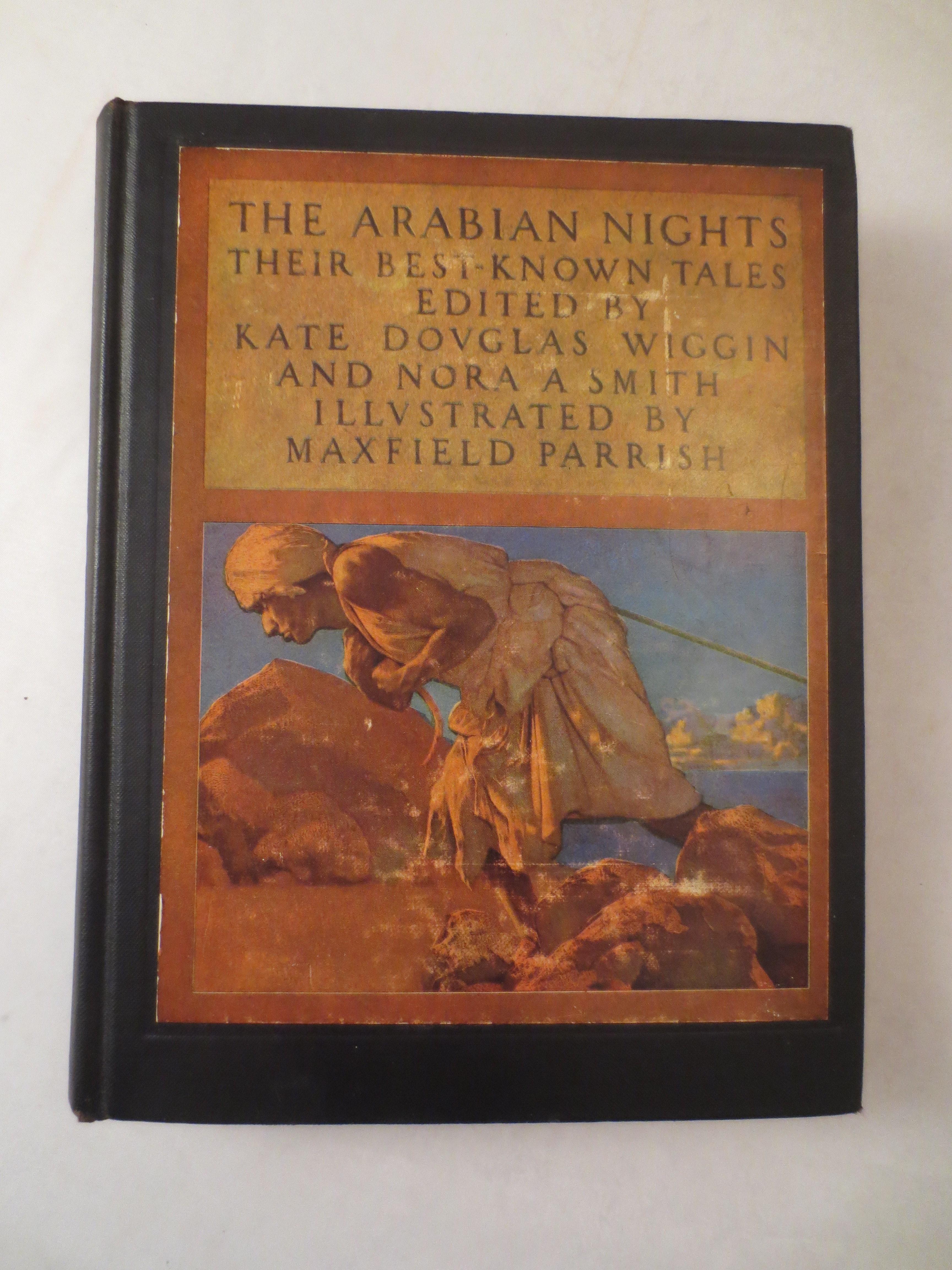 Illiustrated Classics:  The Arabian Nights, Their Best Told Tales, 1933