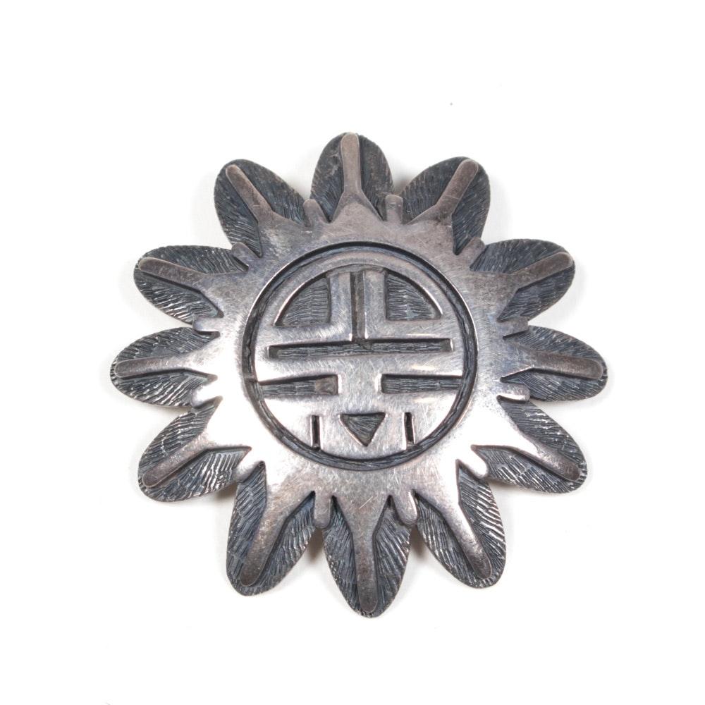 Sterling Silver Brooch
