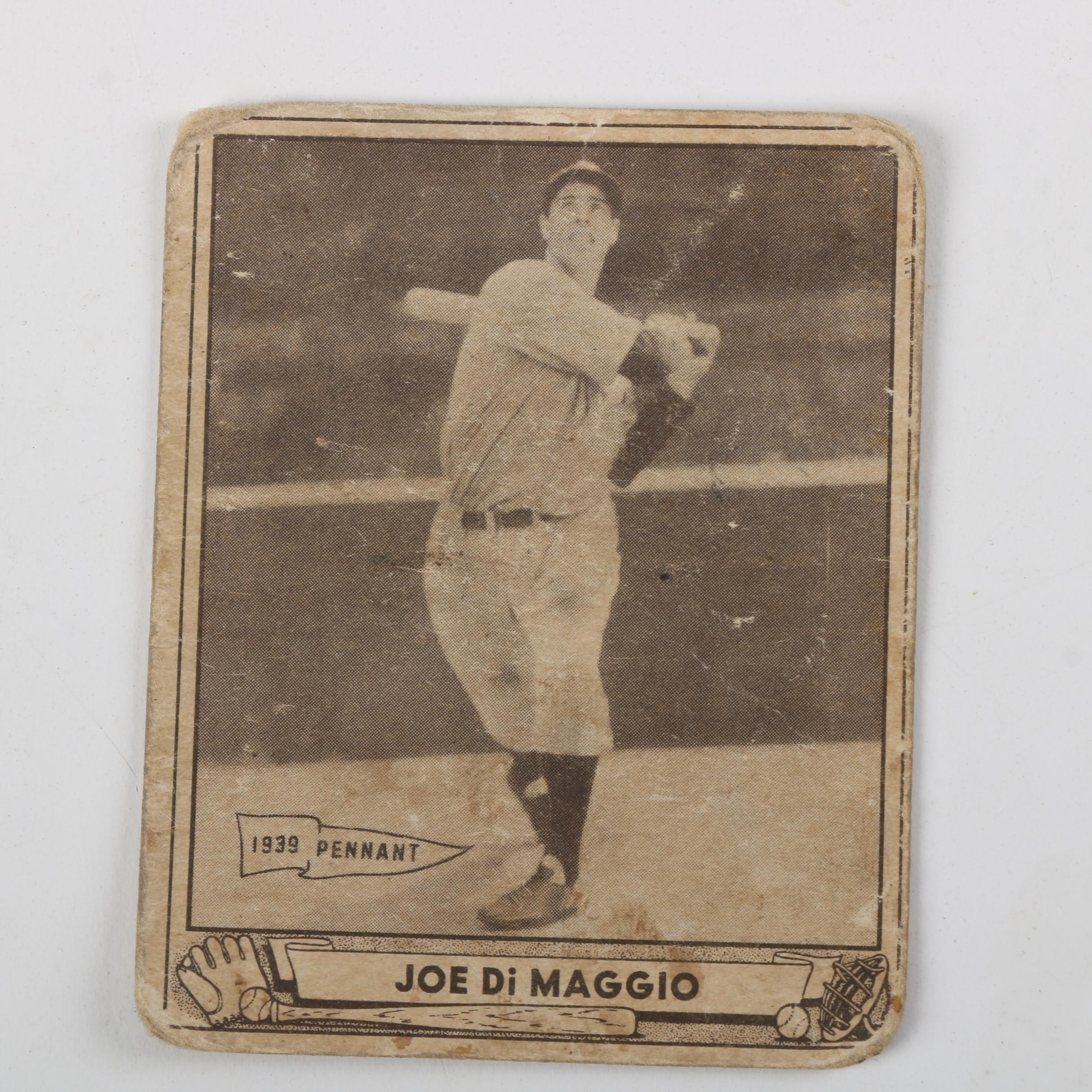 "Joe DiMaggio 1940 ""Play Ball"" Baseball Card"