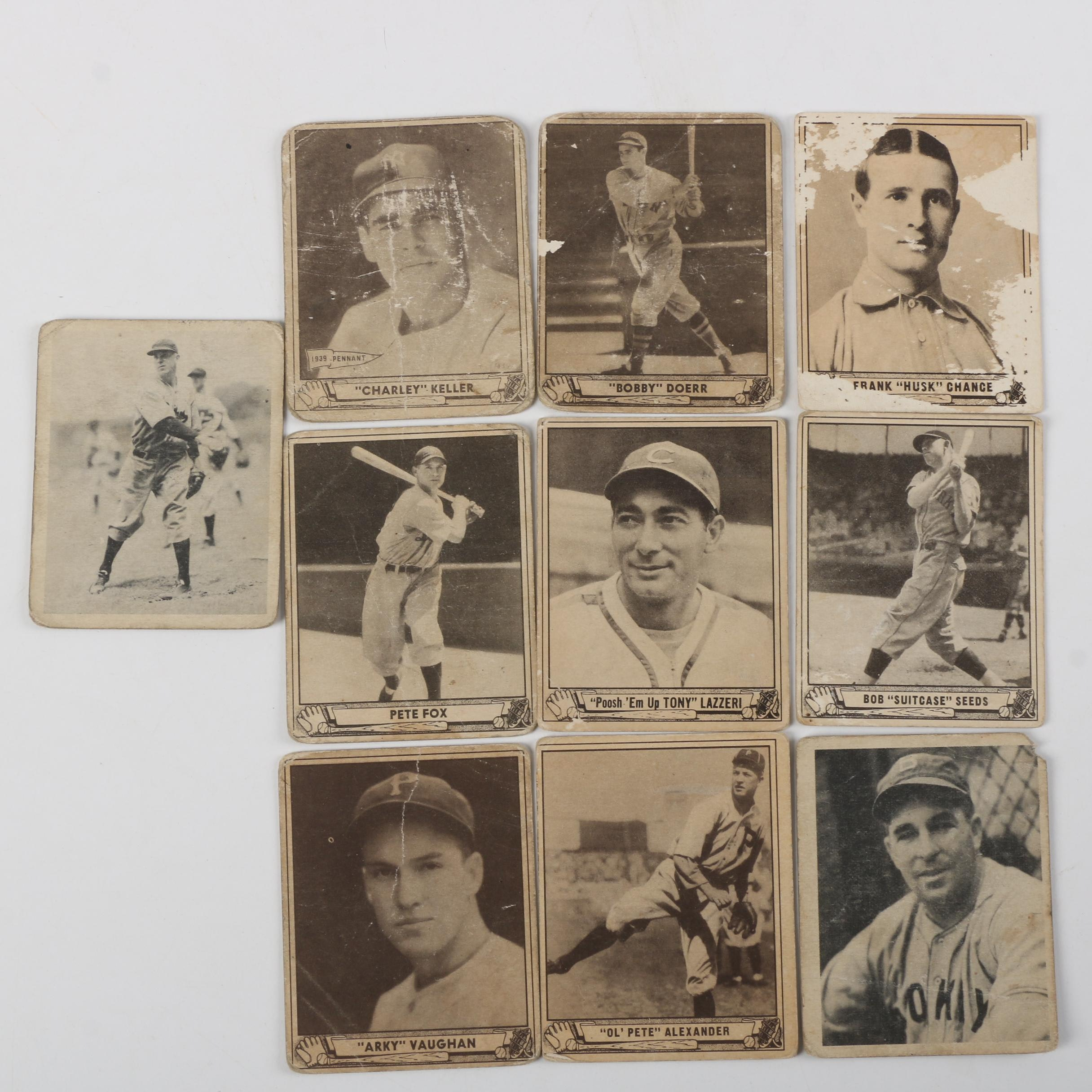 Collection of 1940 Play Ball Baseball Trading Cards