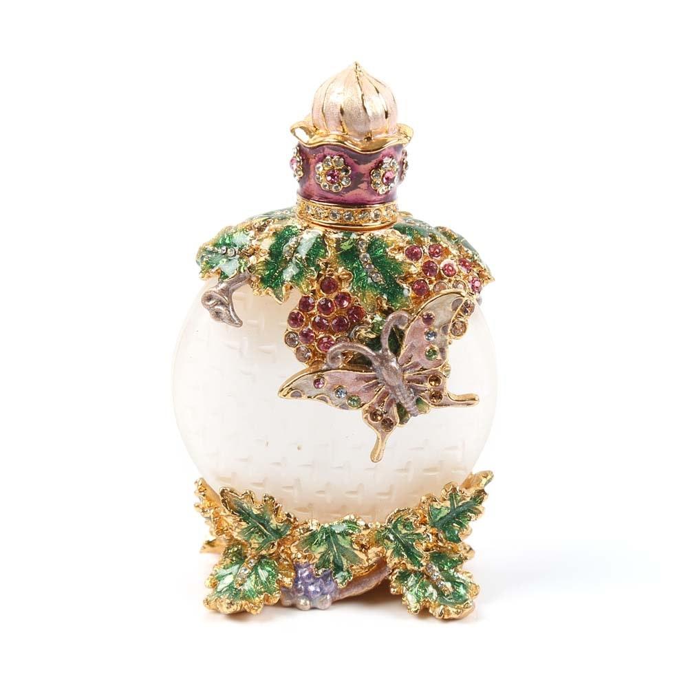 Jeweled Encrusted Perfume Bottle