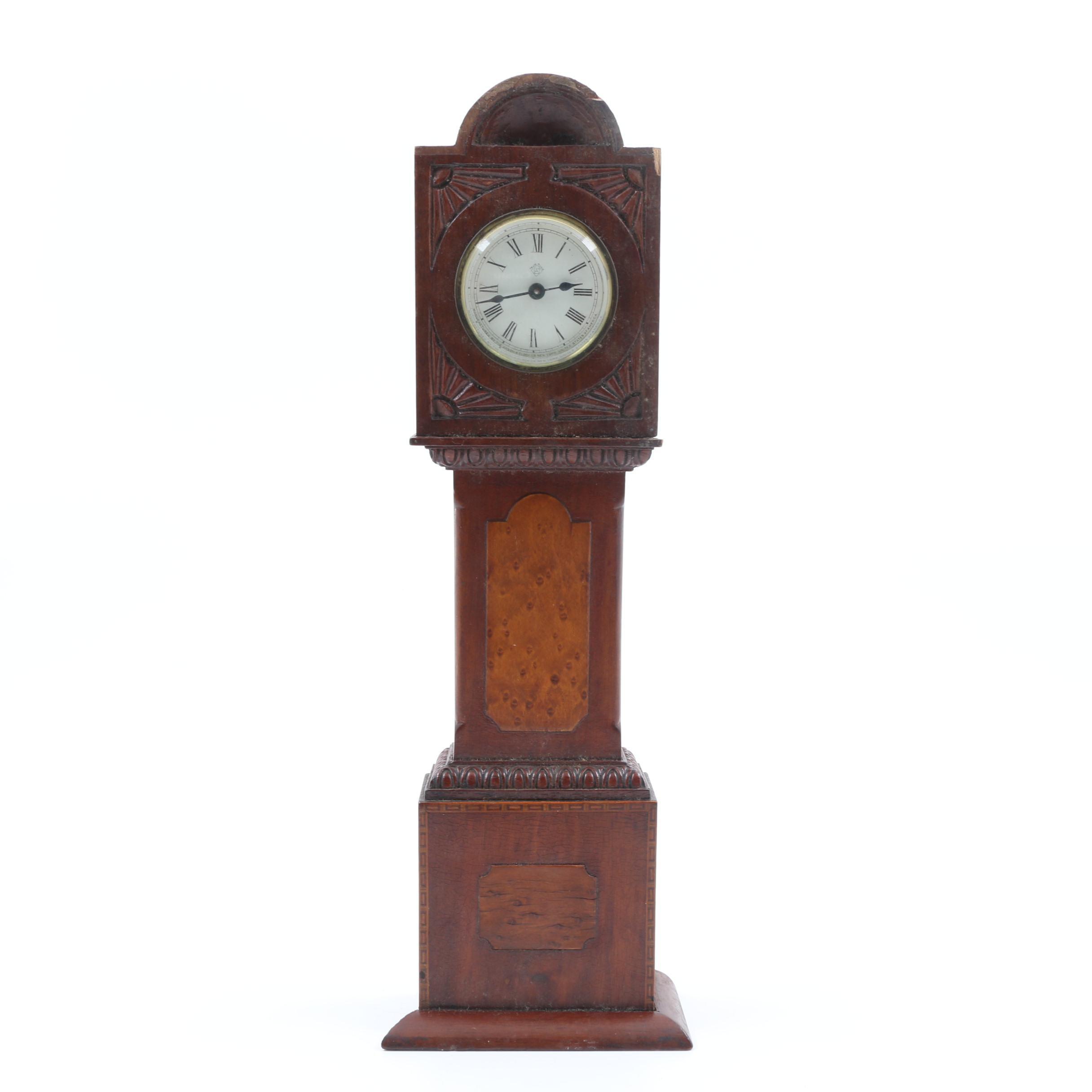 Ansonia Miniature Grandfather Clock
