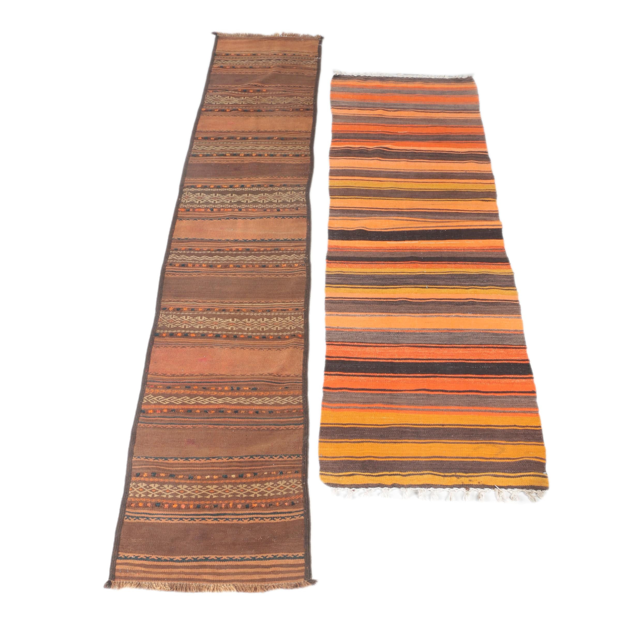 Handwoven Moroccan and Pakistani Wool Carpet Runners