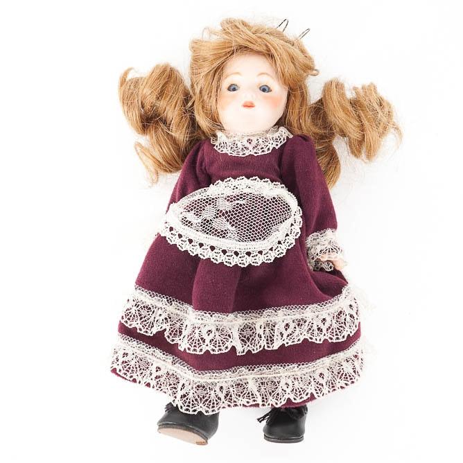 Vintage Bru Jne Porcelain Doll