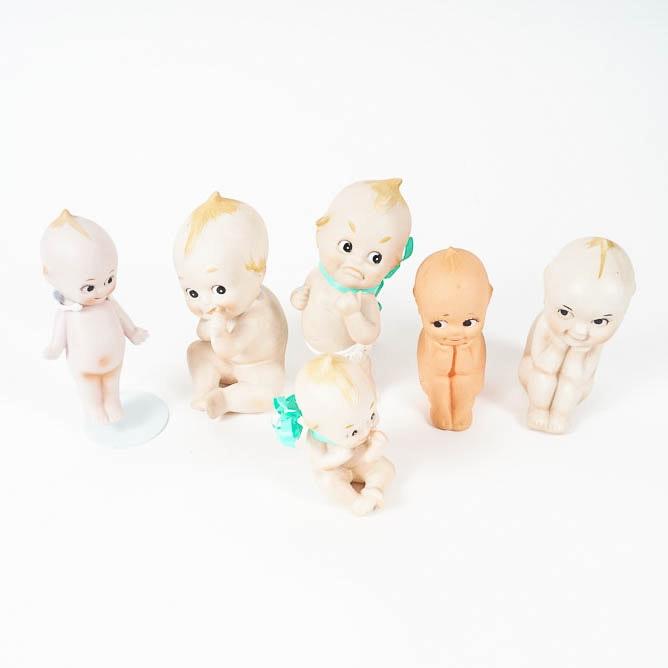 Vintage Porcelain Kewpie Dolls