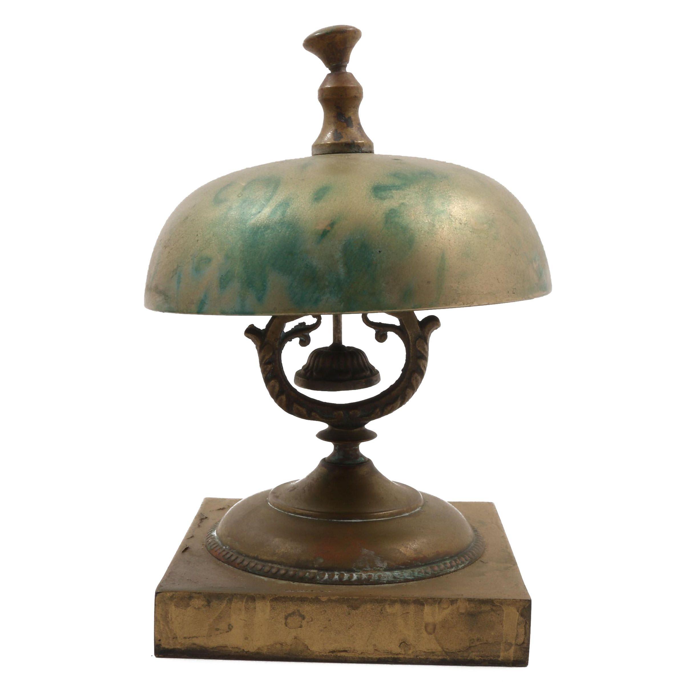 Brass Service Desk Bell