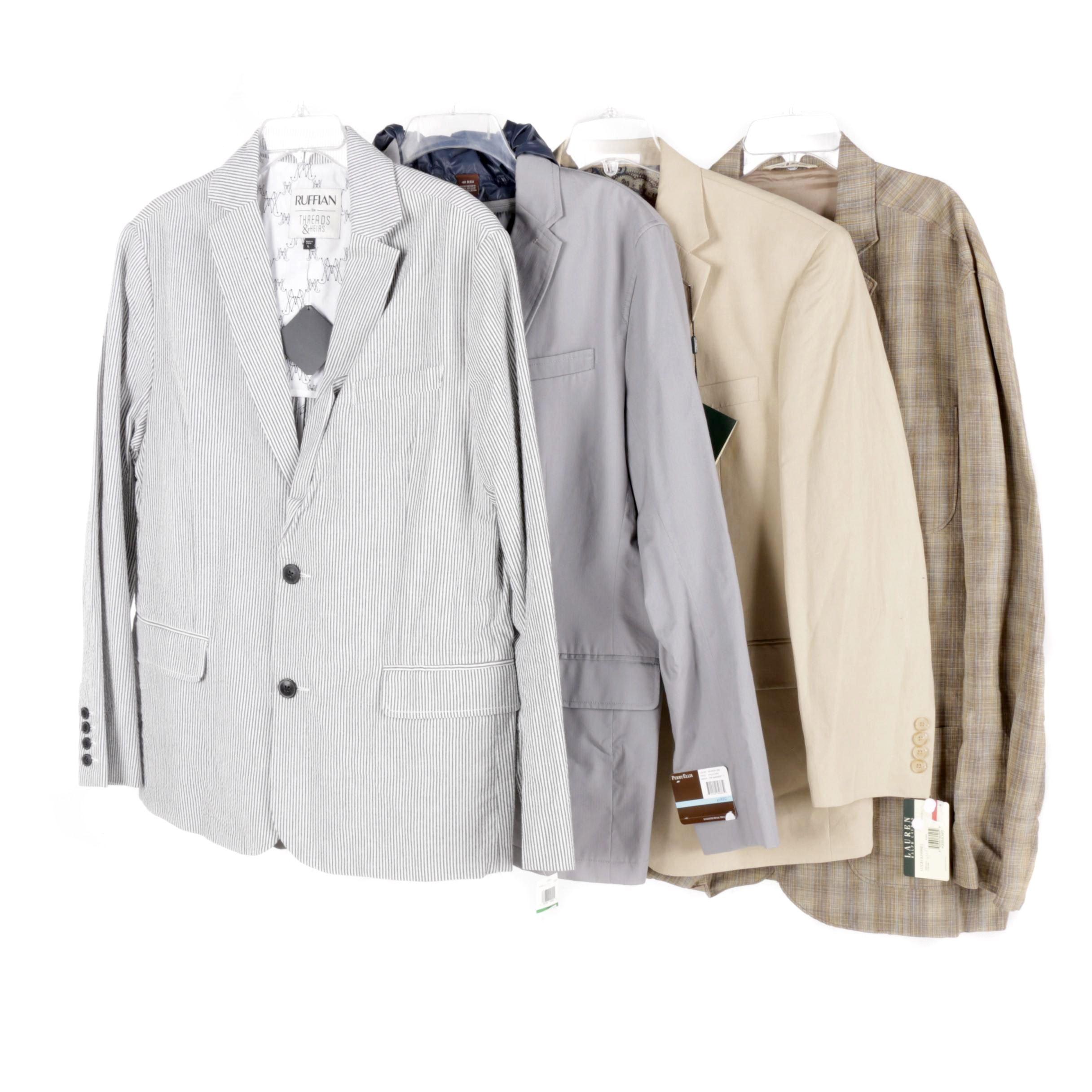 Men's Suit Jackets Including Lauren Ralph Lauren