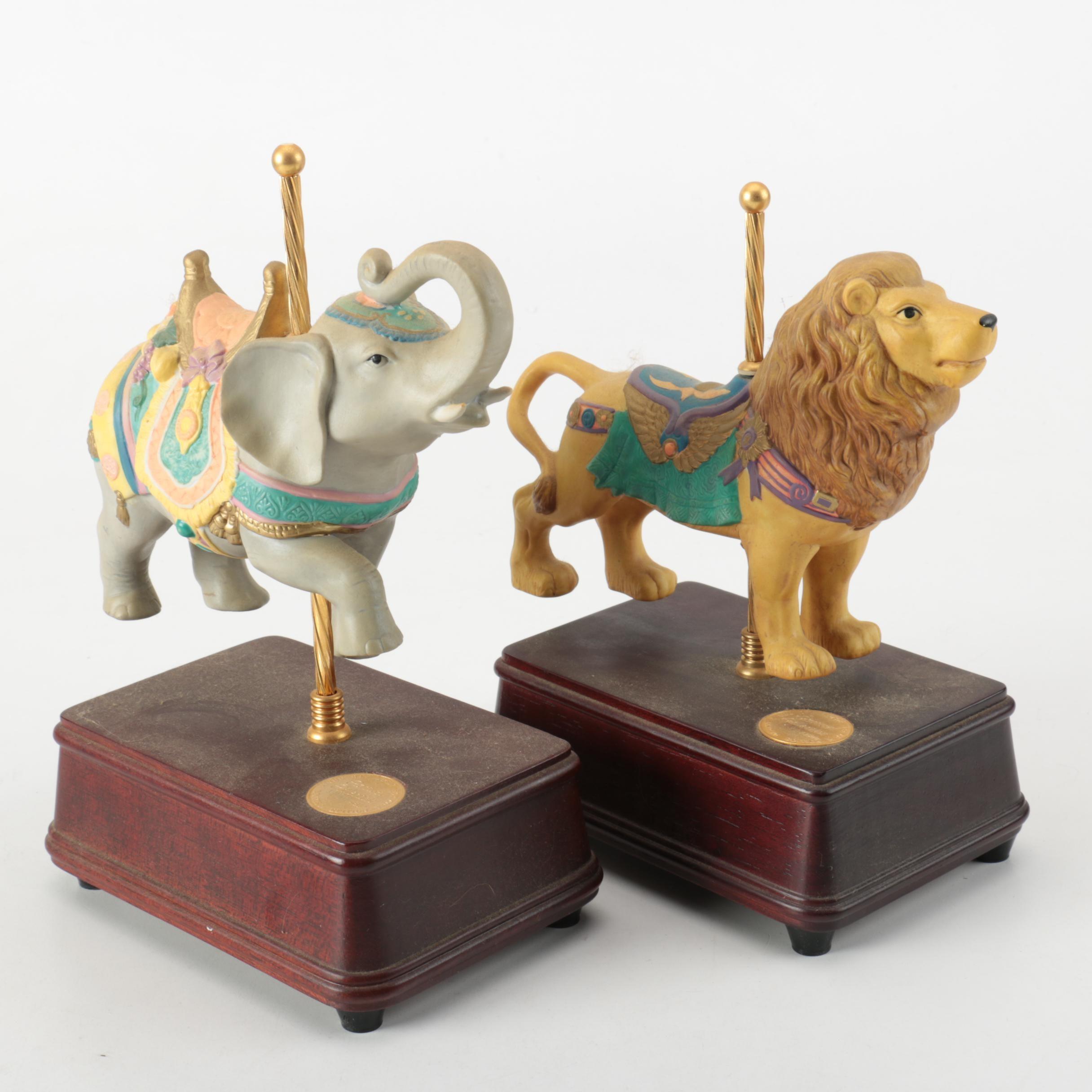 San Francisco Music Box Carousel Collection Figurines