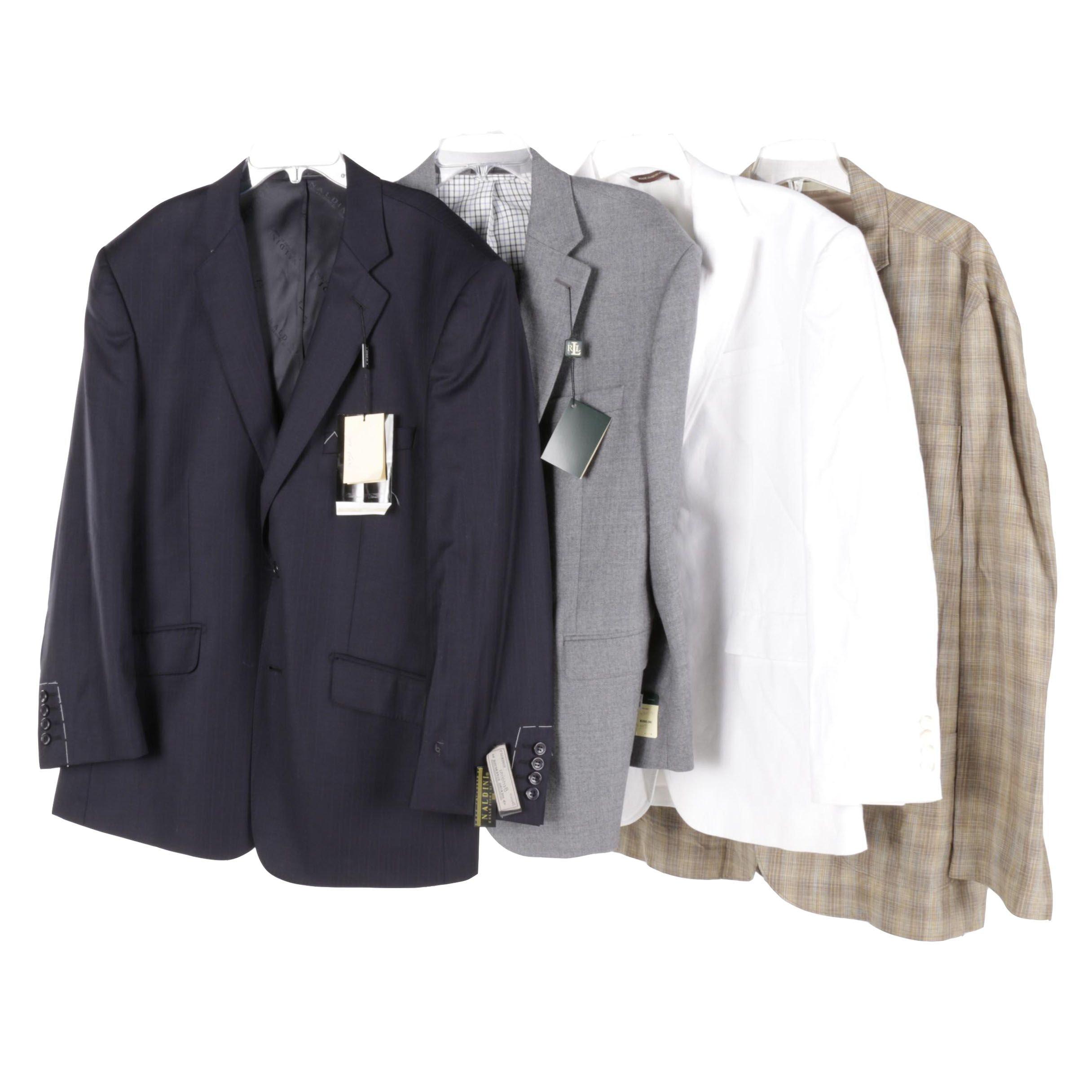 Four Men's Jackets