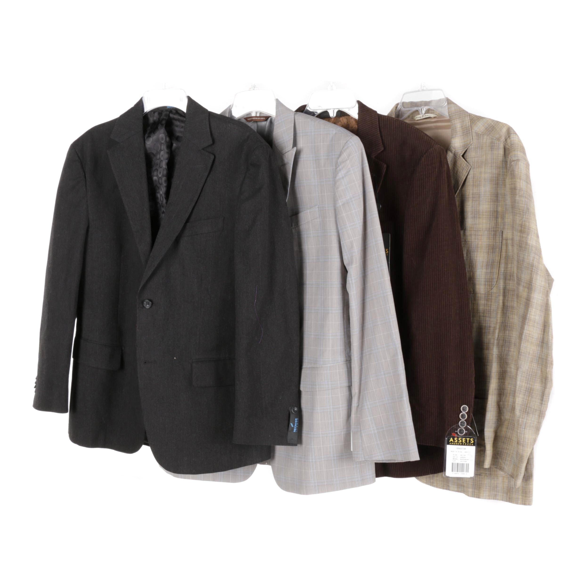 Men's Suit Jackets Including Perry Ellis
