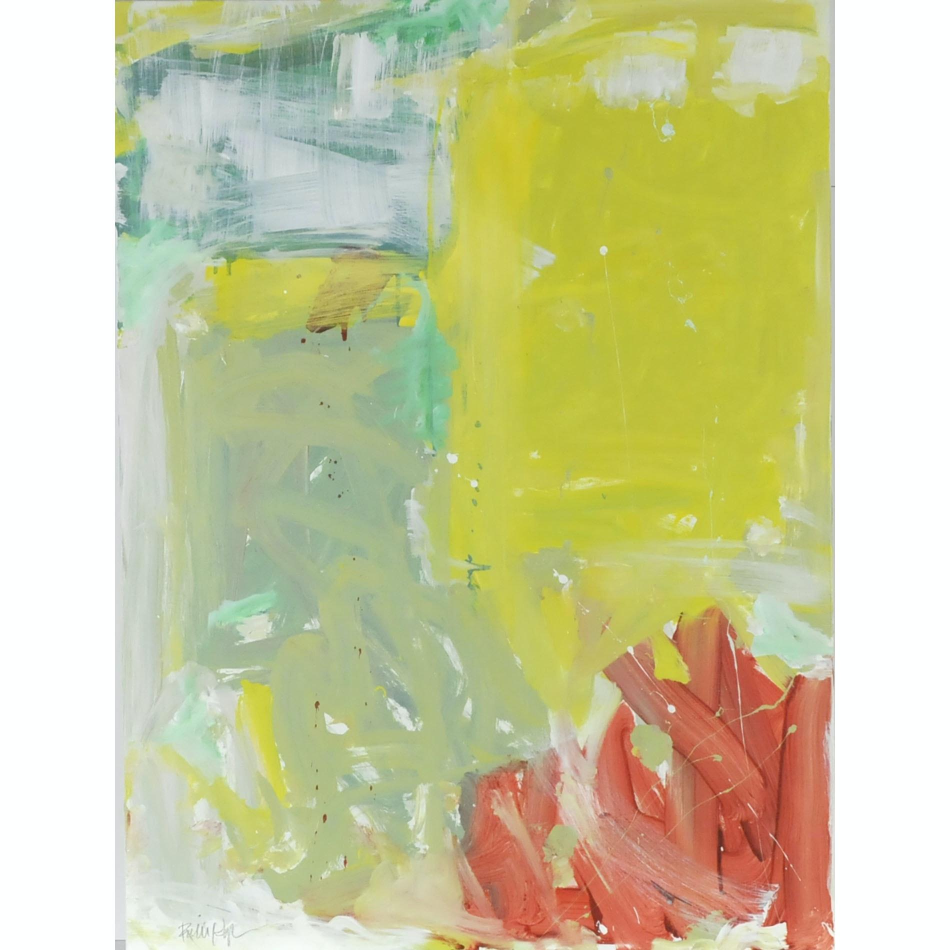 "Robbie Kemper Original Acrylic on Canvas ""Pastel Shapes"""