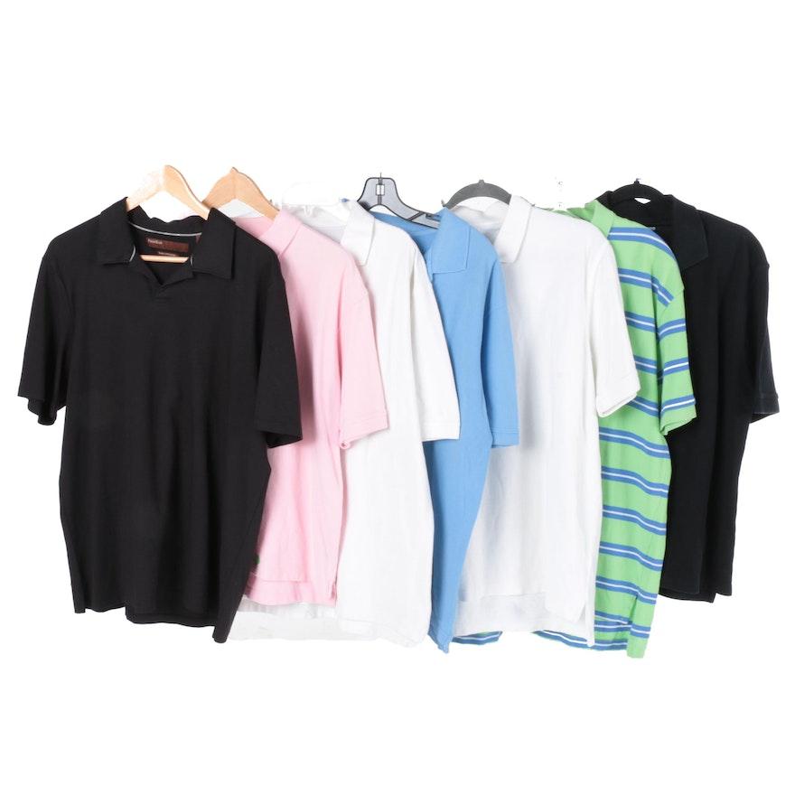 95a4a3b7 Men's Short-Sleeve Polo Shirts Including Perry Ellis : EBTH