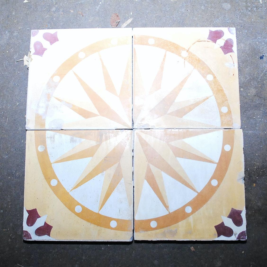 European Style Decorative Hand Painted Tiles
