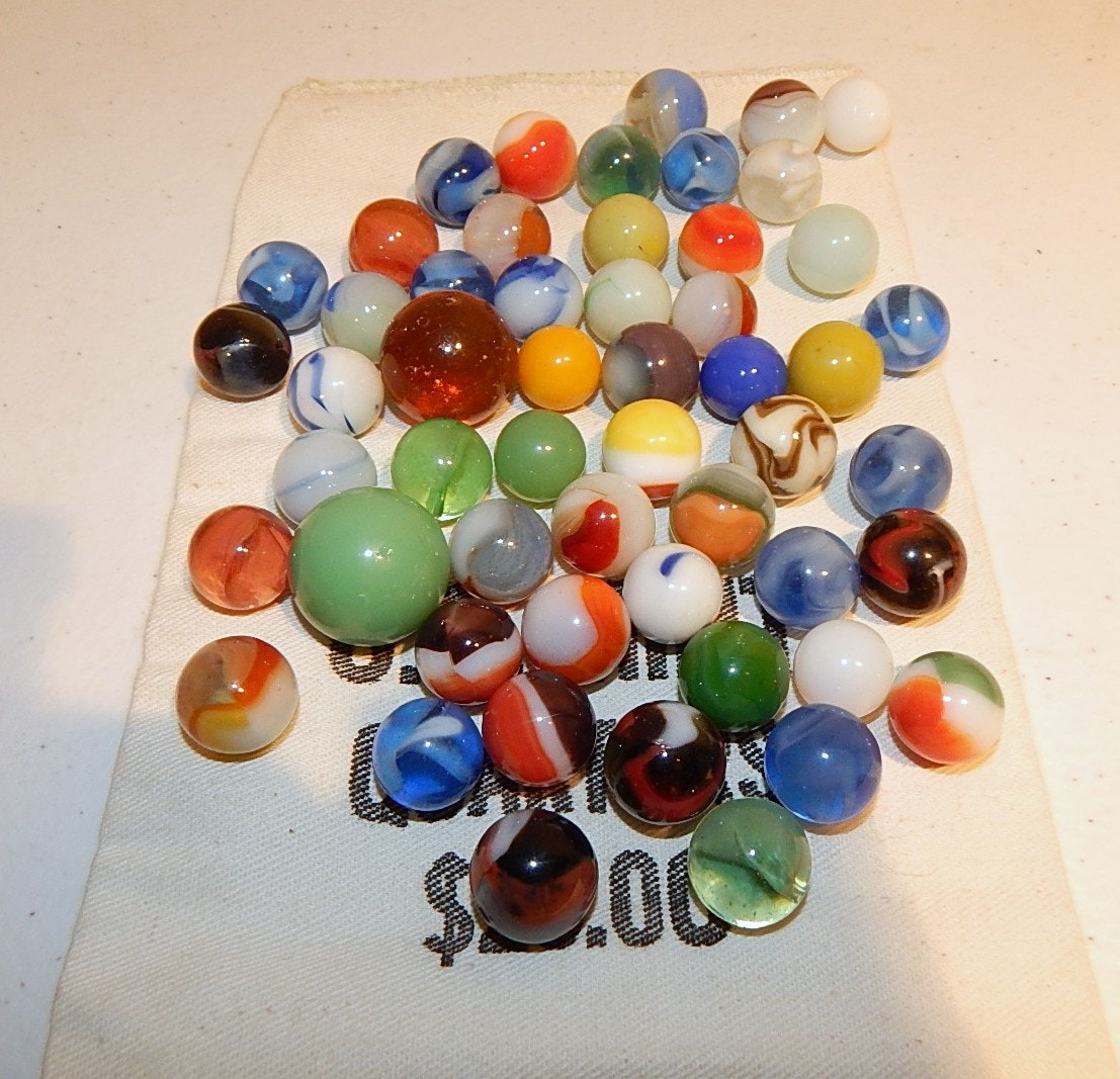 Colorful Vintage Marble Collection