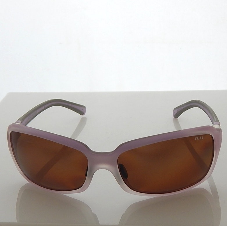 Lavender and Gray Zeal Polarized Sunglasses