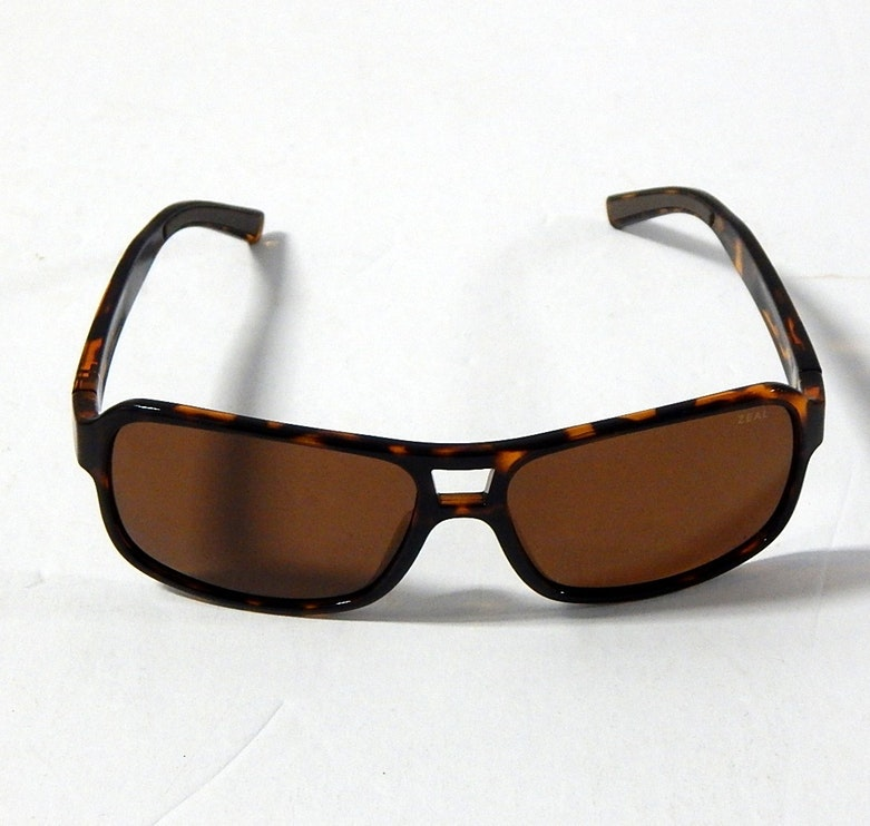 "Zeal Mauritius Tortoise ""Tofino"" Polarized Sunglasses"