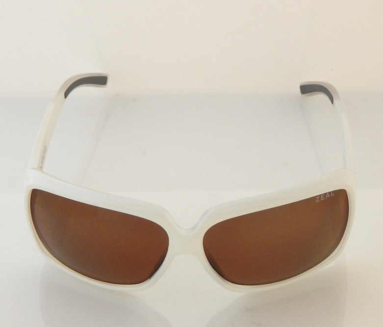 Zeal Felicity White Framed Sunglasses