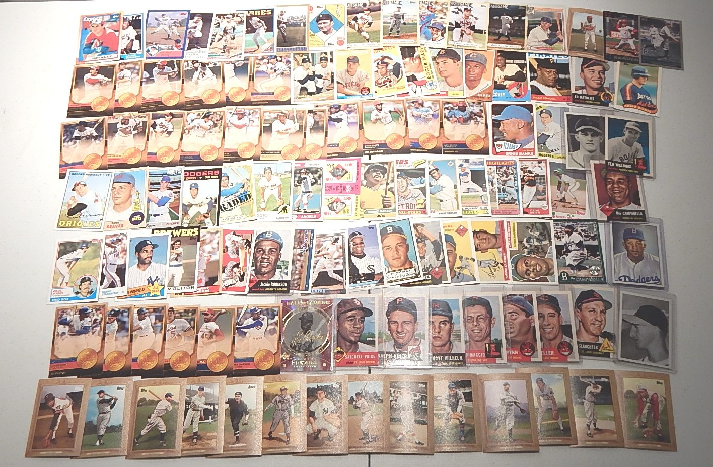 Large Hall of Fame Baseball Card Collection from 2000's
