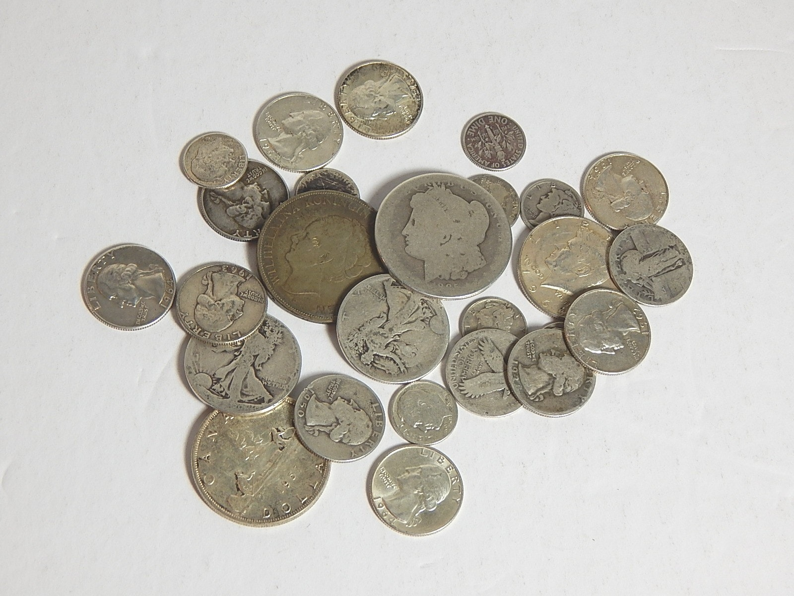 Assortment of Collectible Silver Coins