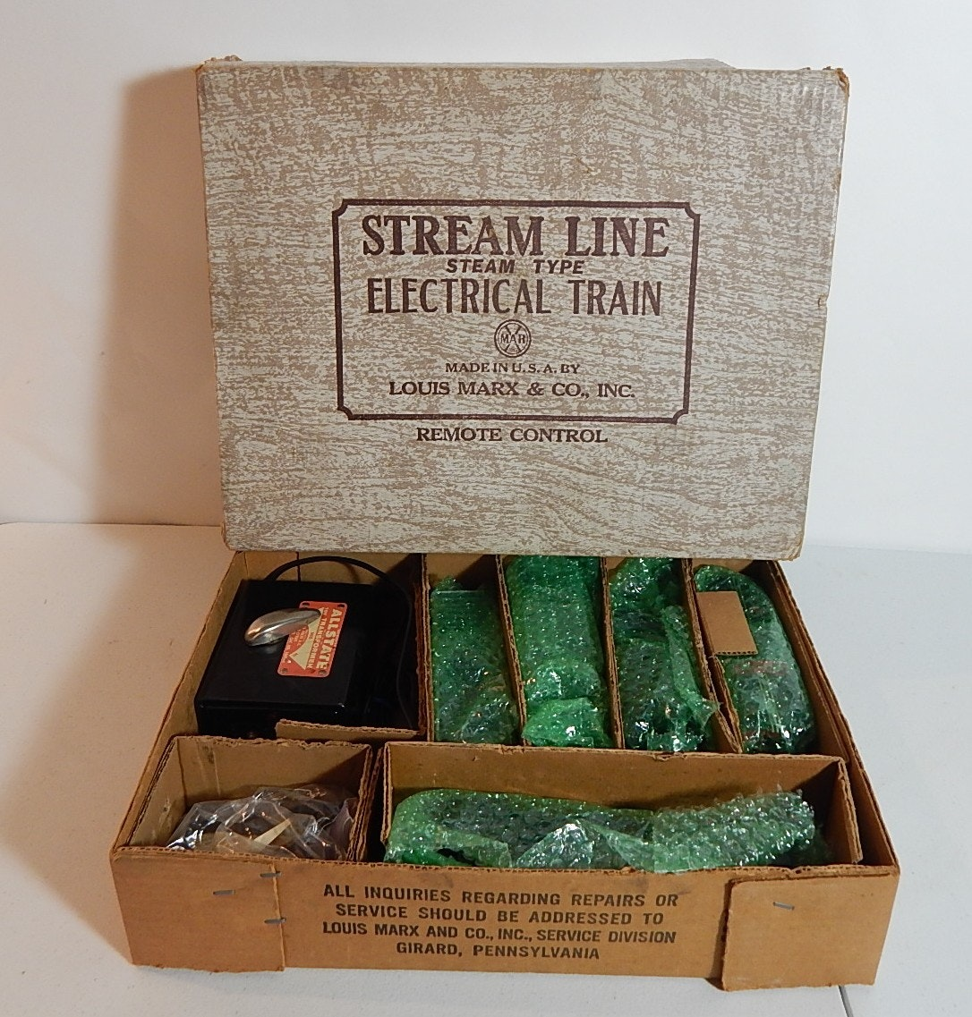 Stream Line Electrical Remote Control Train by Marx