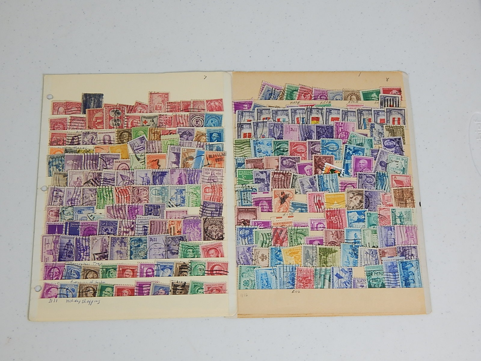 Assortment of Vintage Stamps