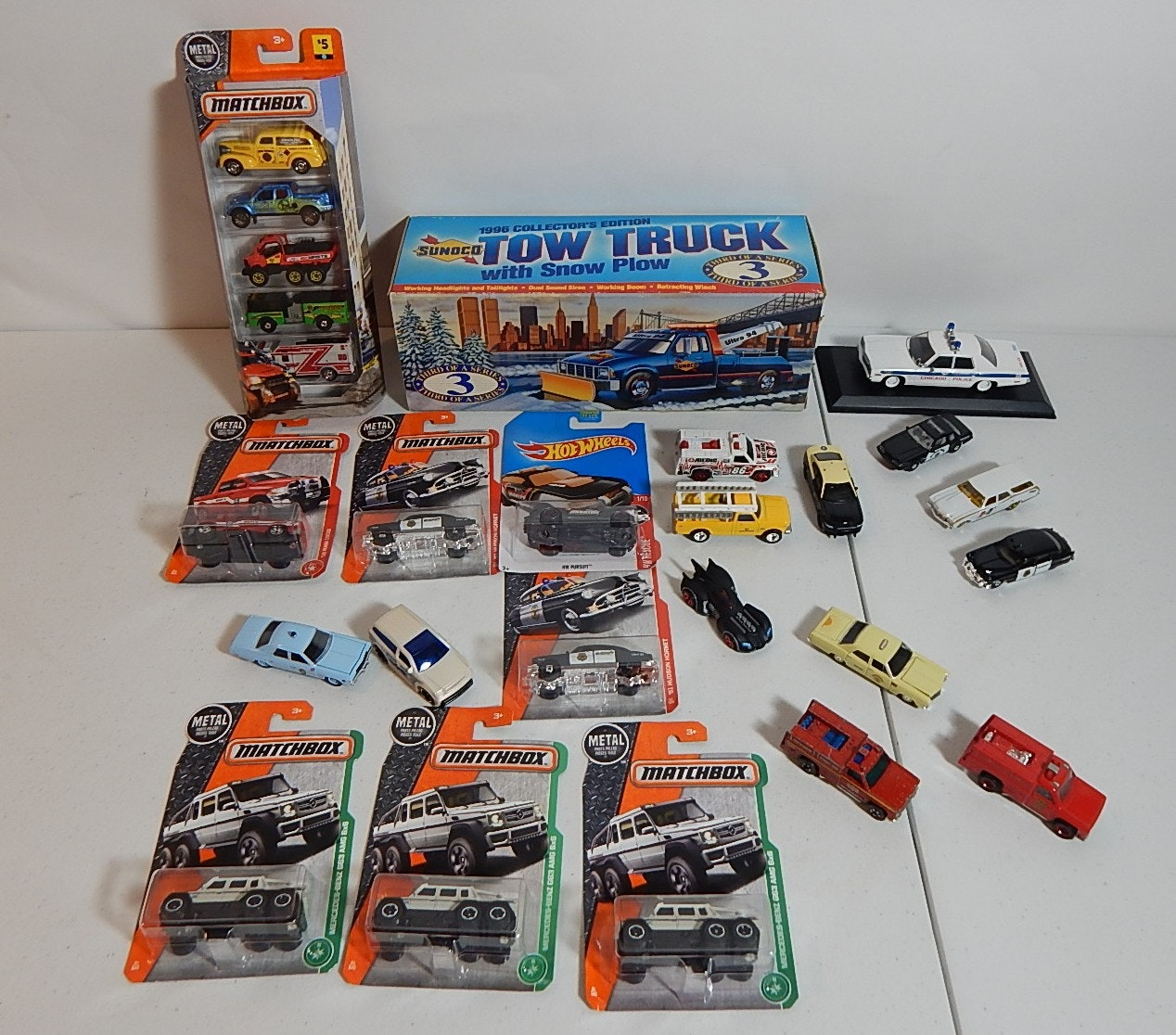 Service Die Cast Cars and Trucks