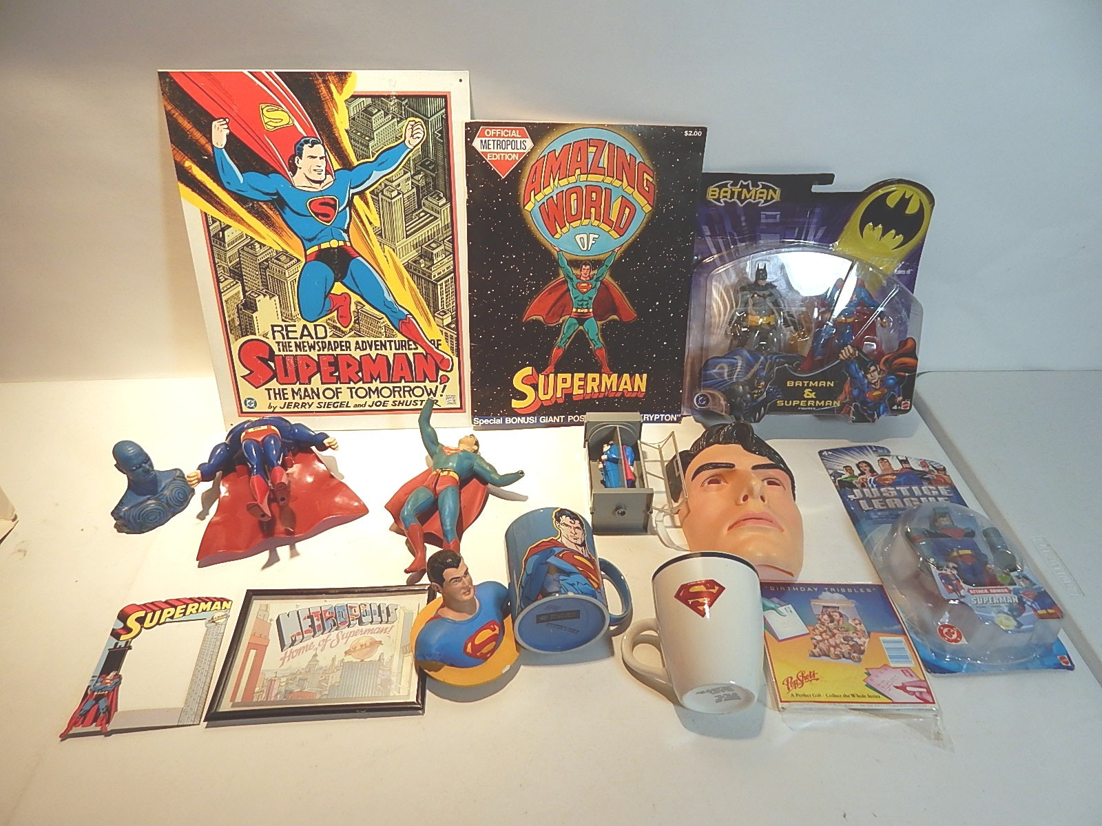 Assortment of Superman Memorabilia