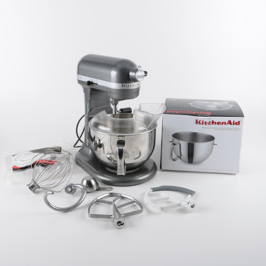 Kitchenaid Professional 600 Series And Accessories Ebth